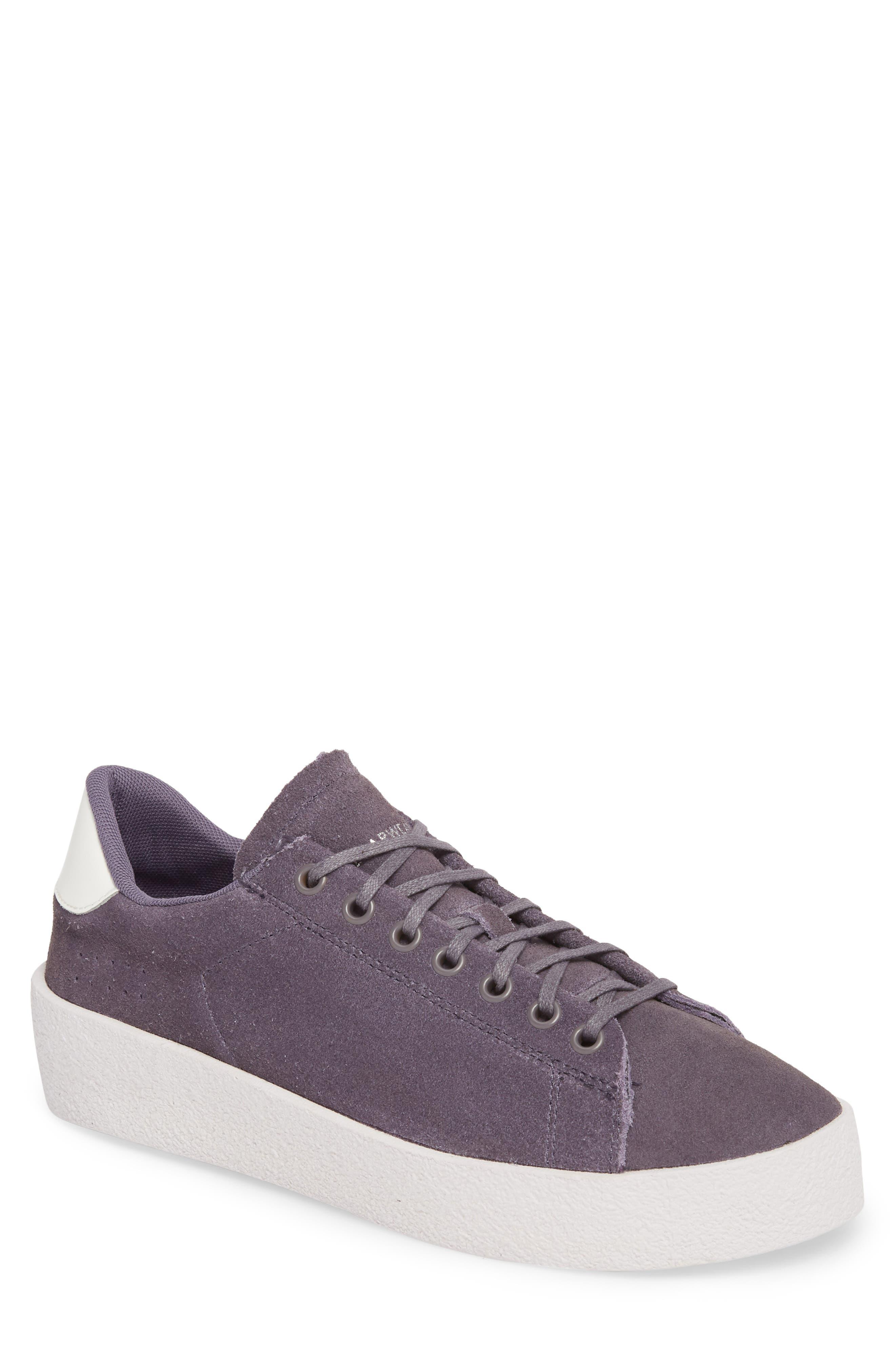 Jones Platform Sneaker,                         Main,                         color, Purple Leather