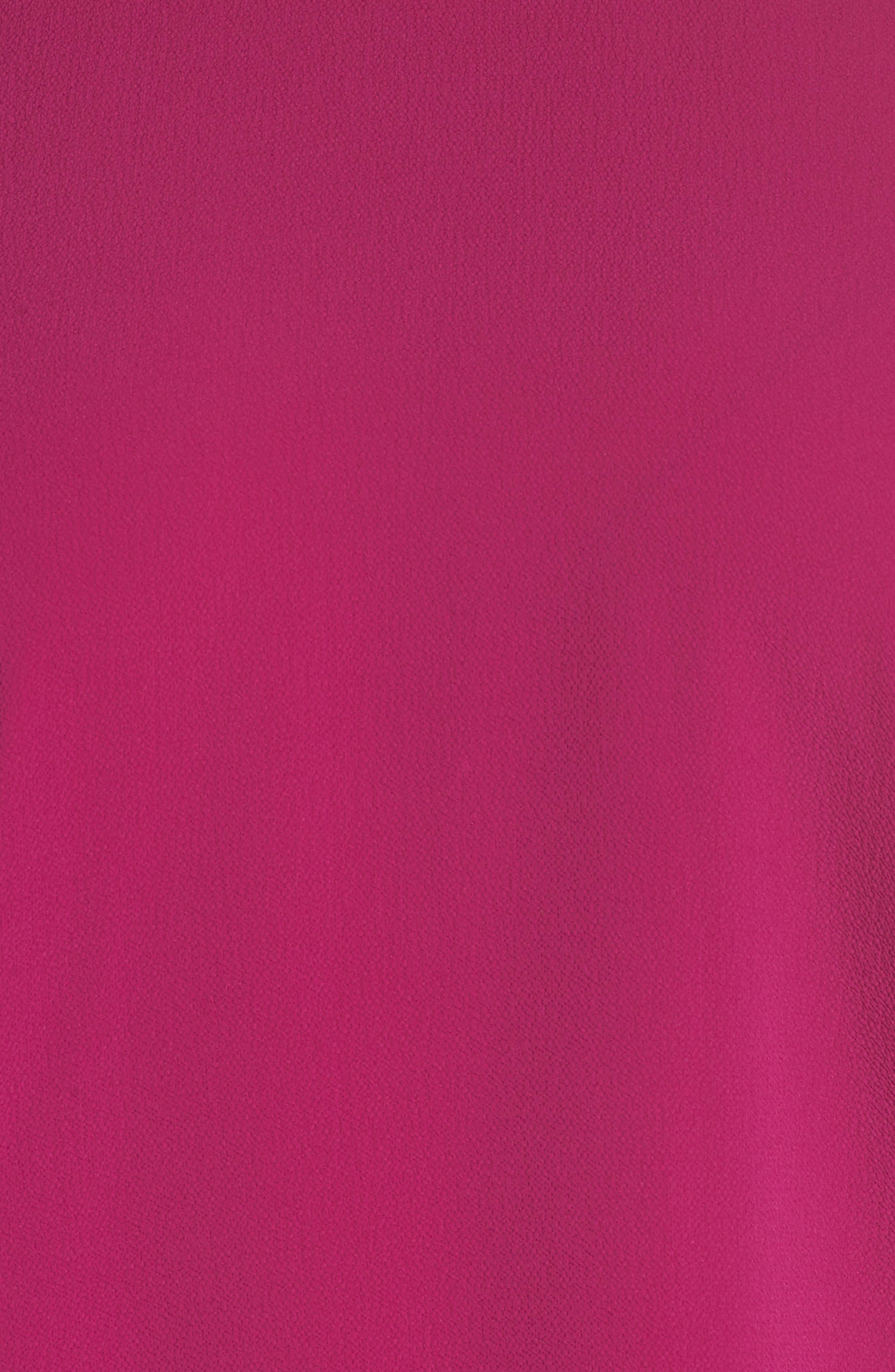 Bubble Sleeve Blouse,                             Alternate thumbnail 6, color,                             Fuchsia Fury
