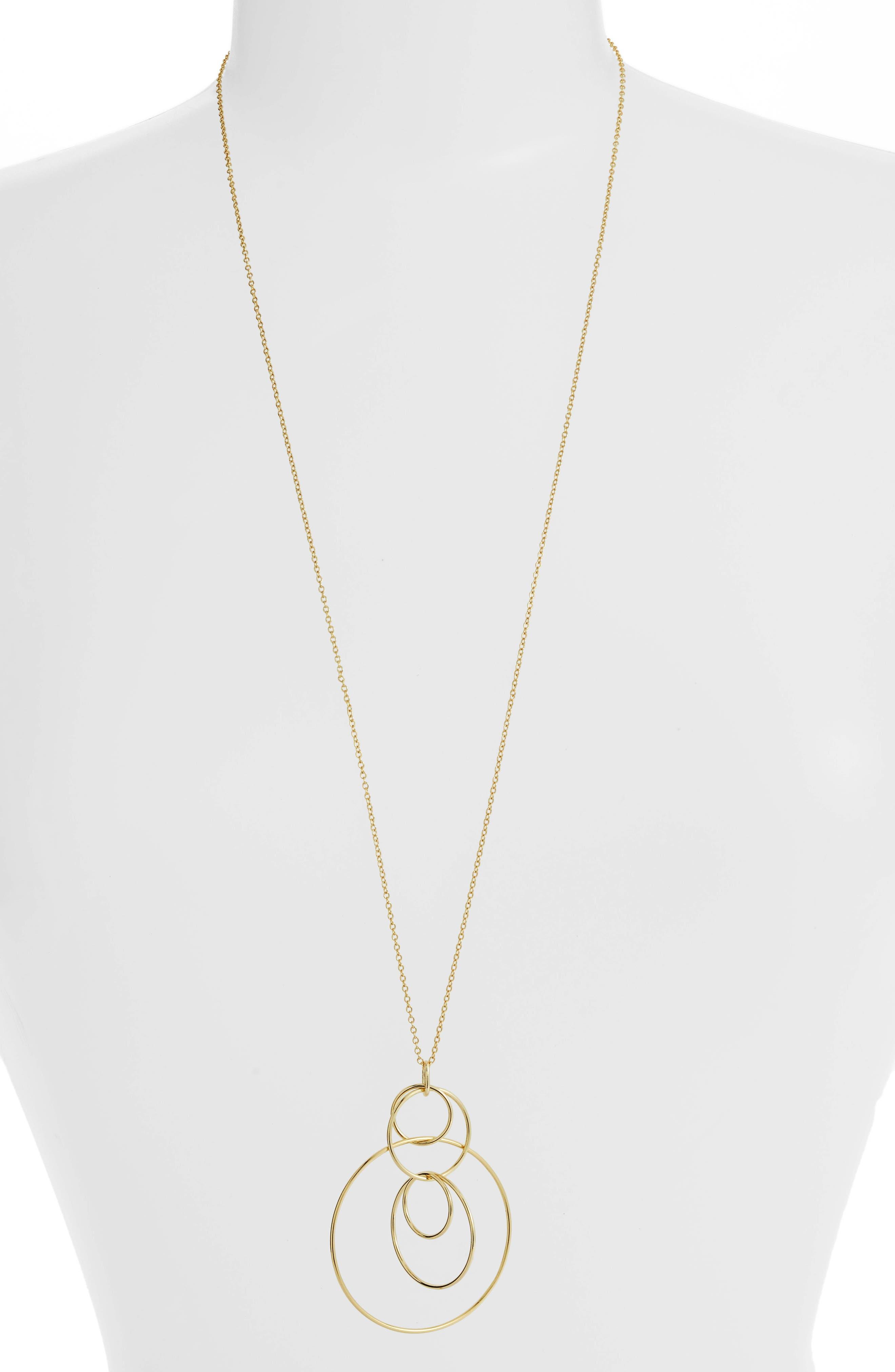 gorjana Wilshire Multi Loop Pendant Necklace