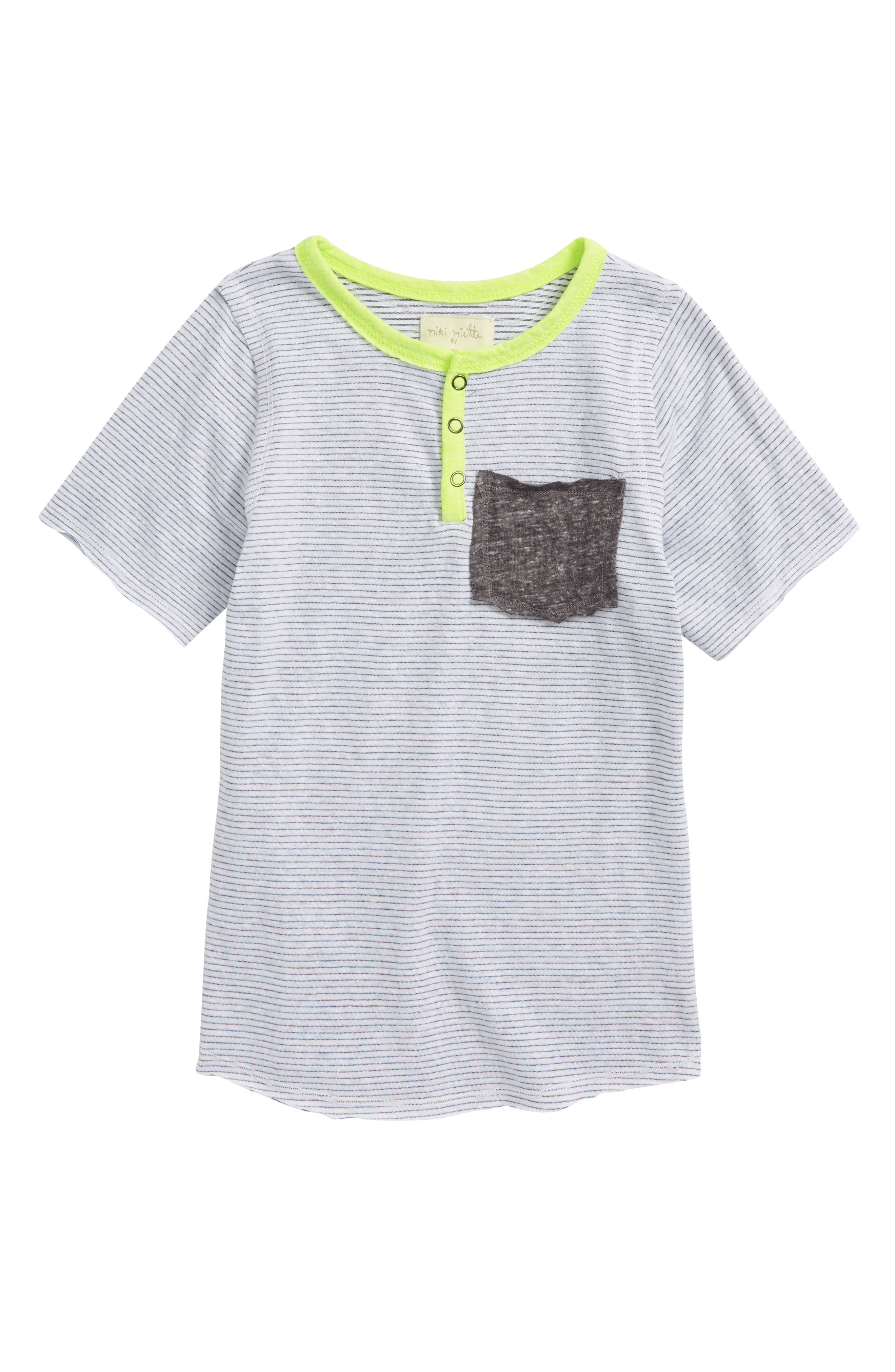 Jax Pocket T-Shirt,                         Main,                         color, Sol
