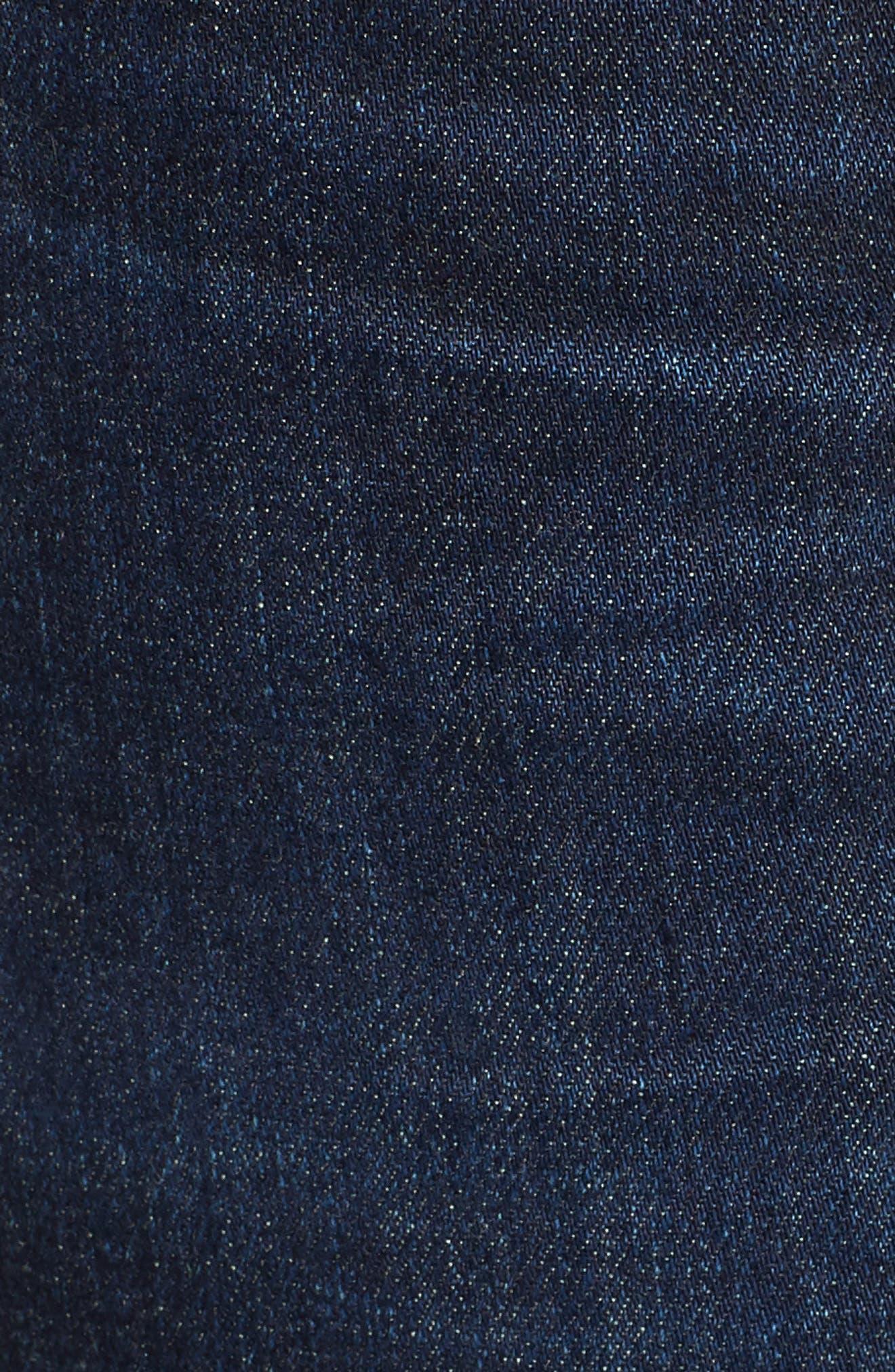 Amari Ankle Skinny Jeans,                             Alternate thumbnail 6, color,                             Maya