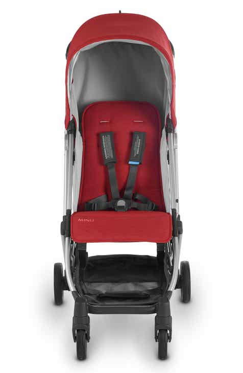 Red Baby Strollers Jogging Reclining Frames