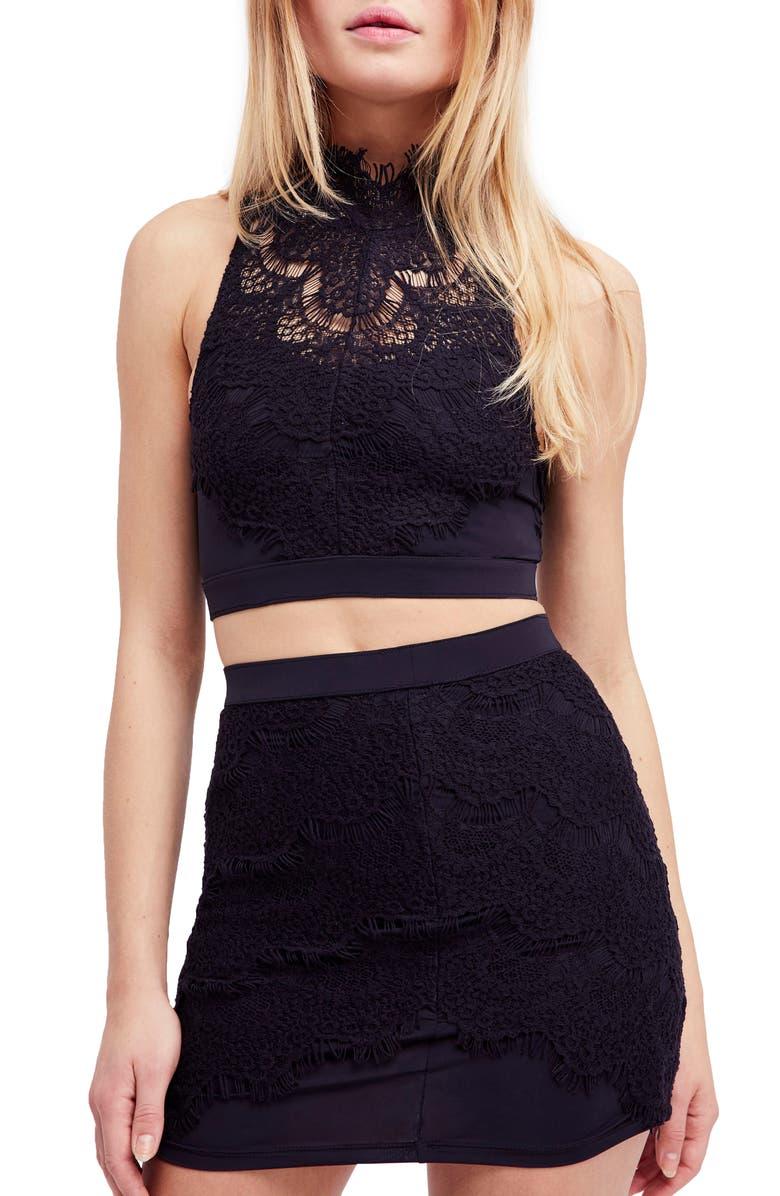 Sabina Crop Top  Skirt