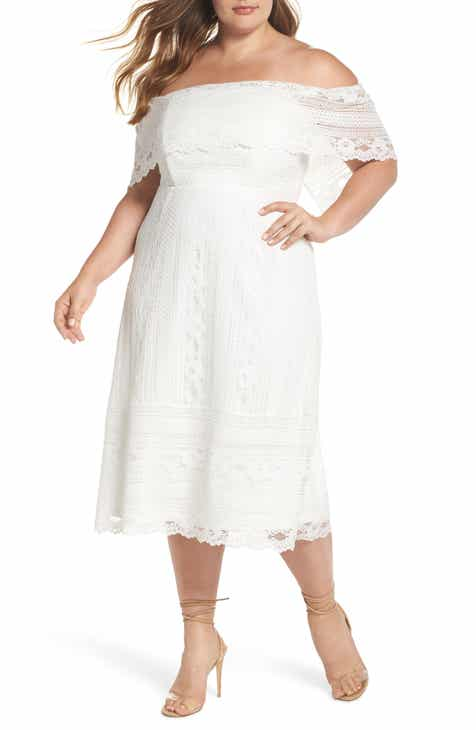Womens Off The Shoulder Plus Size Dresses Nordstrom