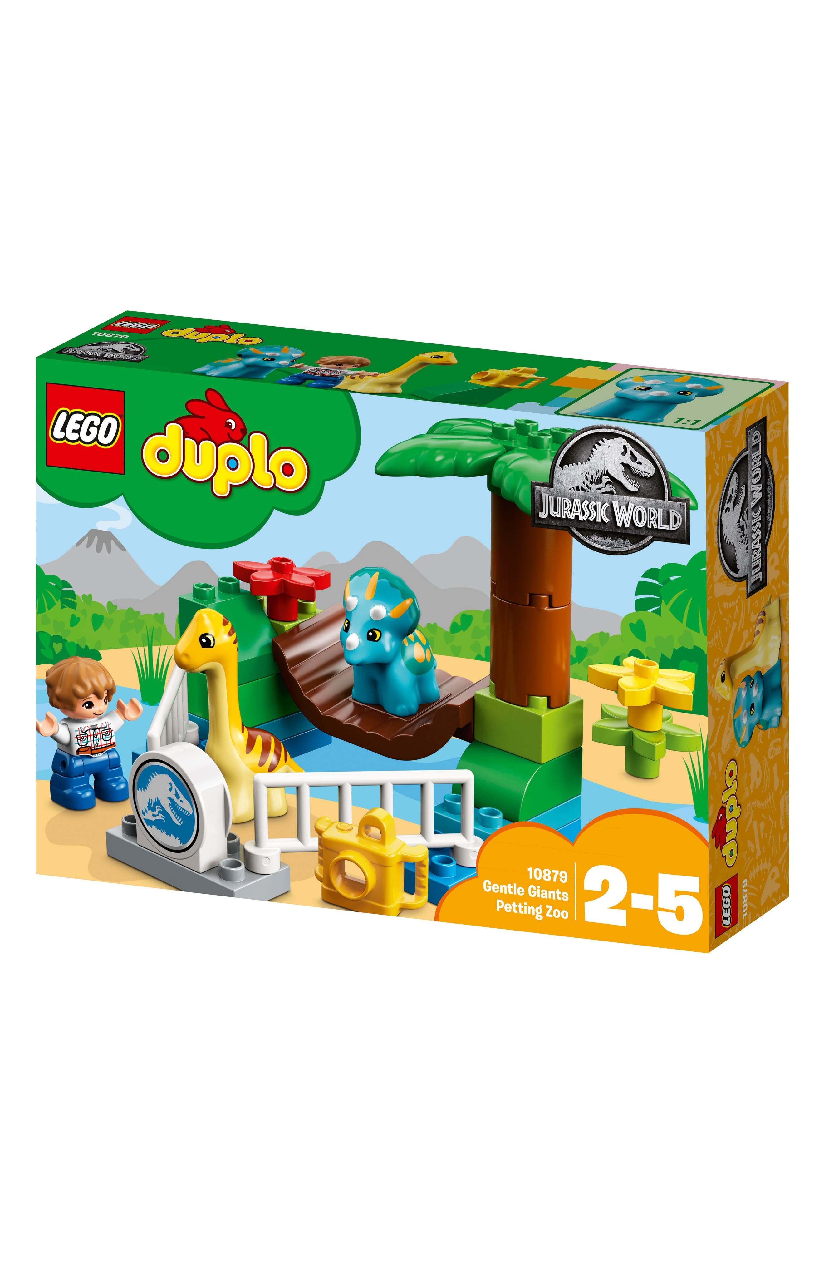 DUPLO<sup>®</sup> Gentle Giants Petting Zoo - 10879,                             Main thumbnail 1, color,                             Multi