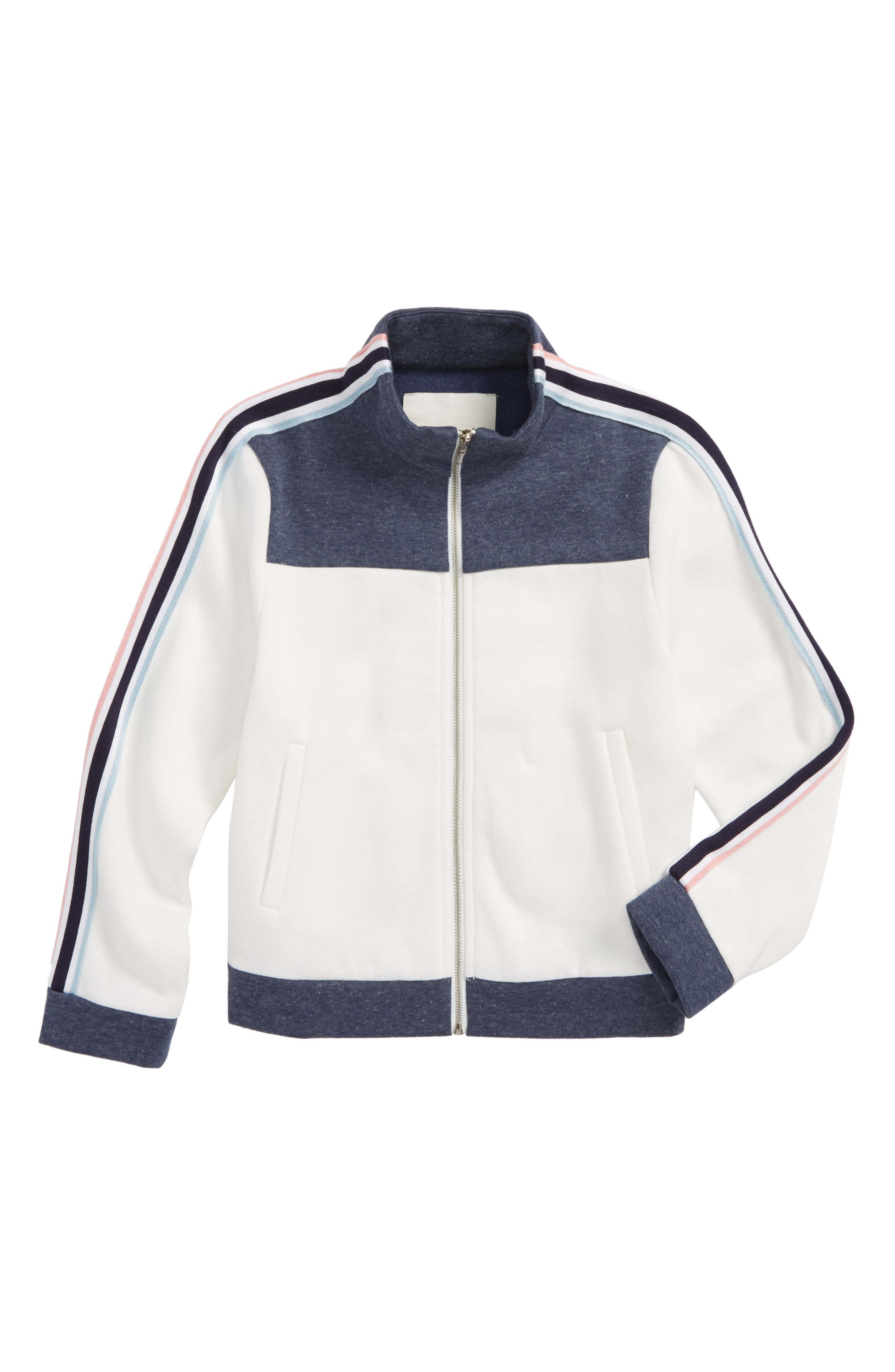 Maddie Stripe Track Jacket (Big Girls)