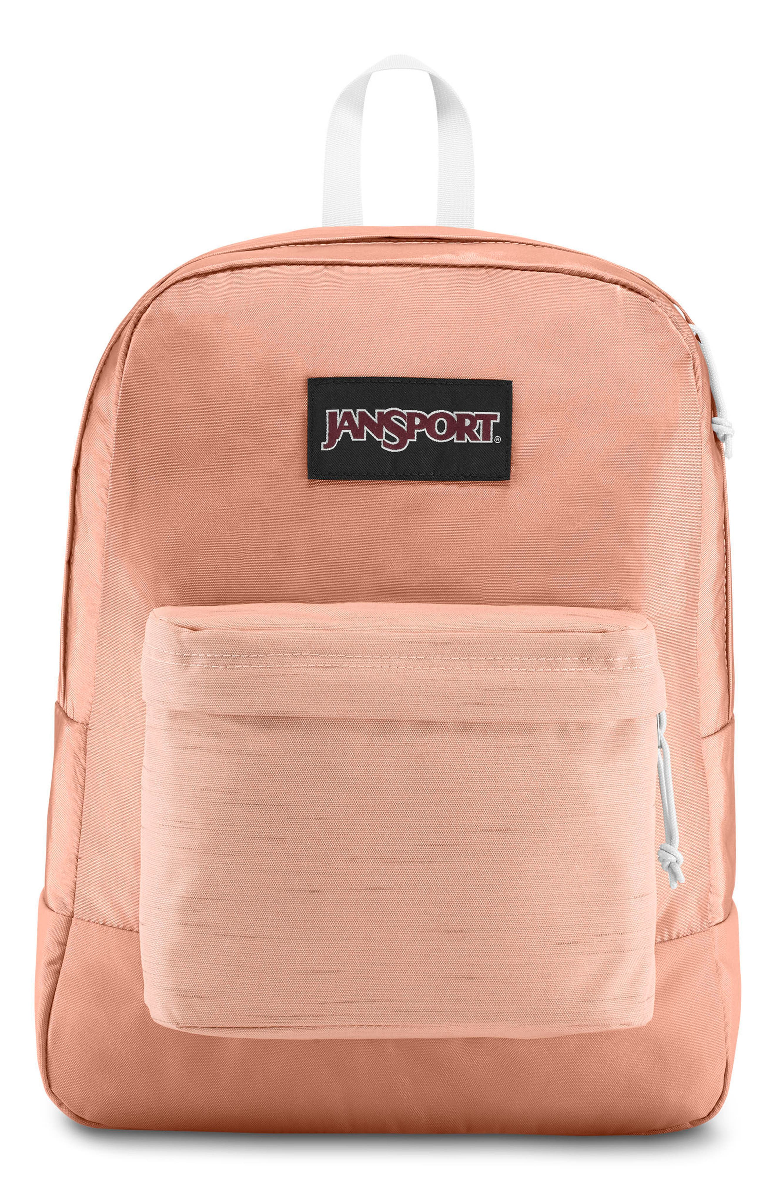 JANSPORT BLACK LABEL SUPERBREAK BACKPACK - PINK