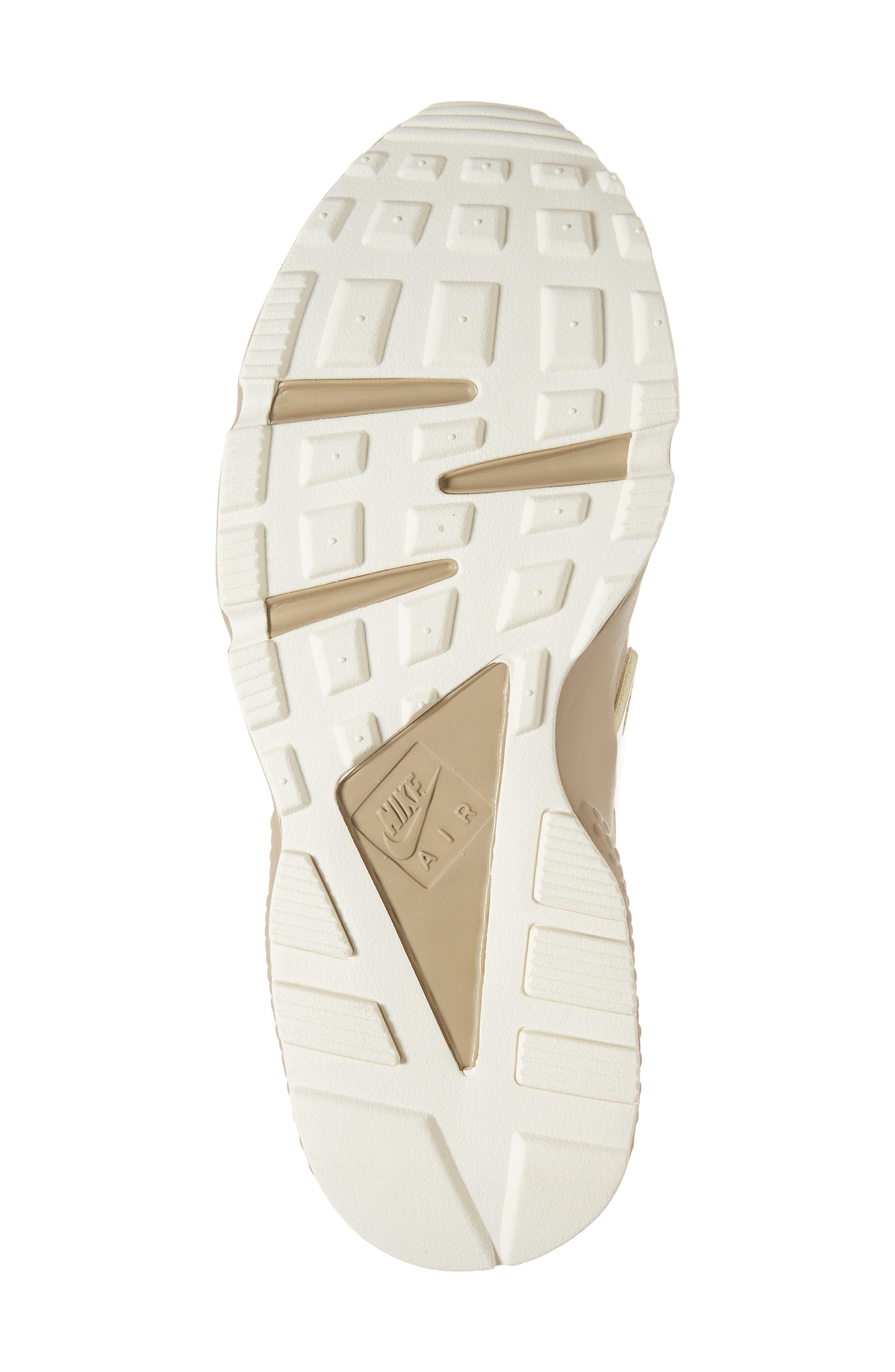 'Air Huarache Premiere' Sneaker,                             Alternate thumbnail 6, color,                             Khaki/ Gold/ Sail