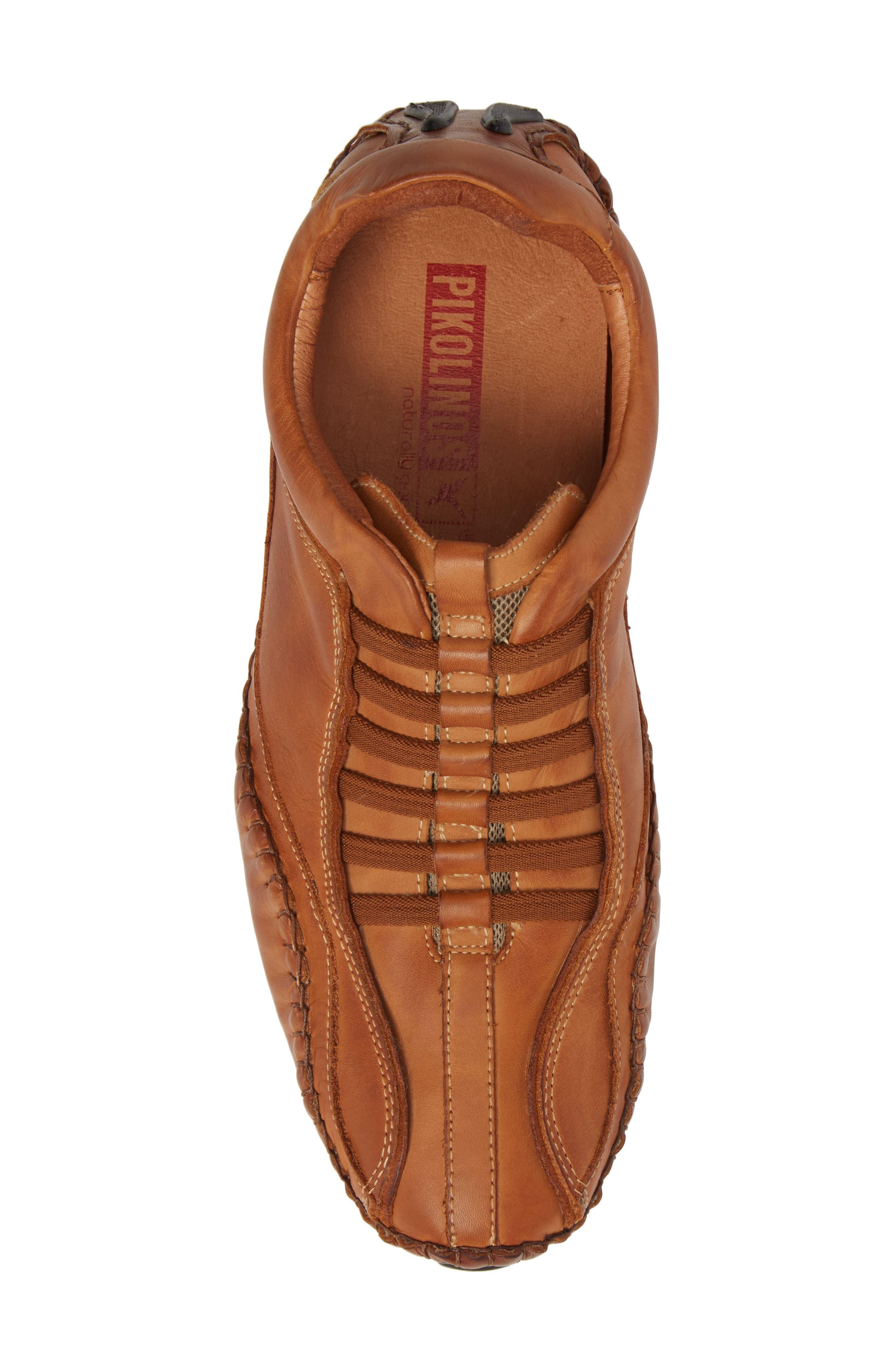 'Fuencarral' Driving Shoe,                             Alternate thumbnail 5, color,                             Light Brown