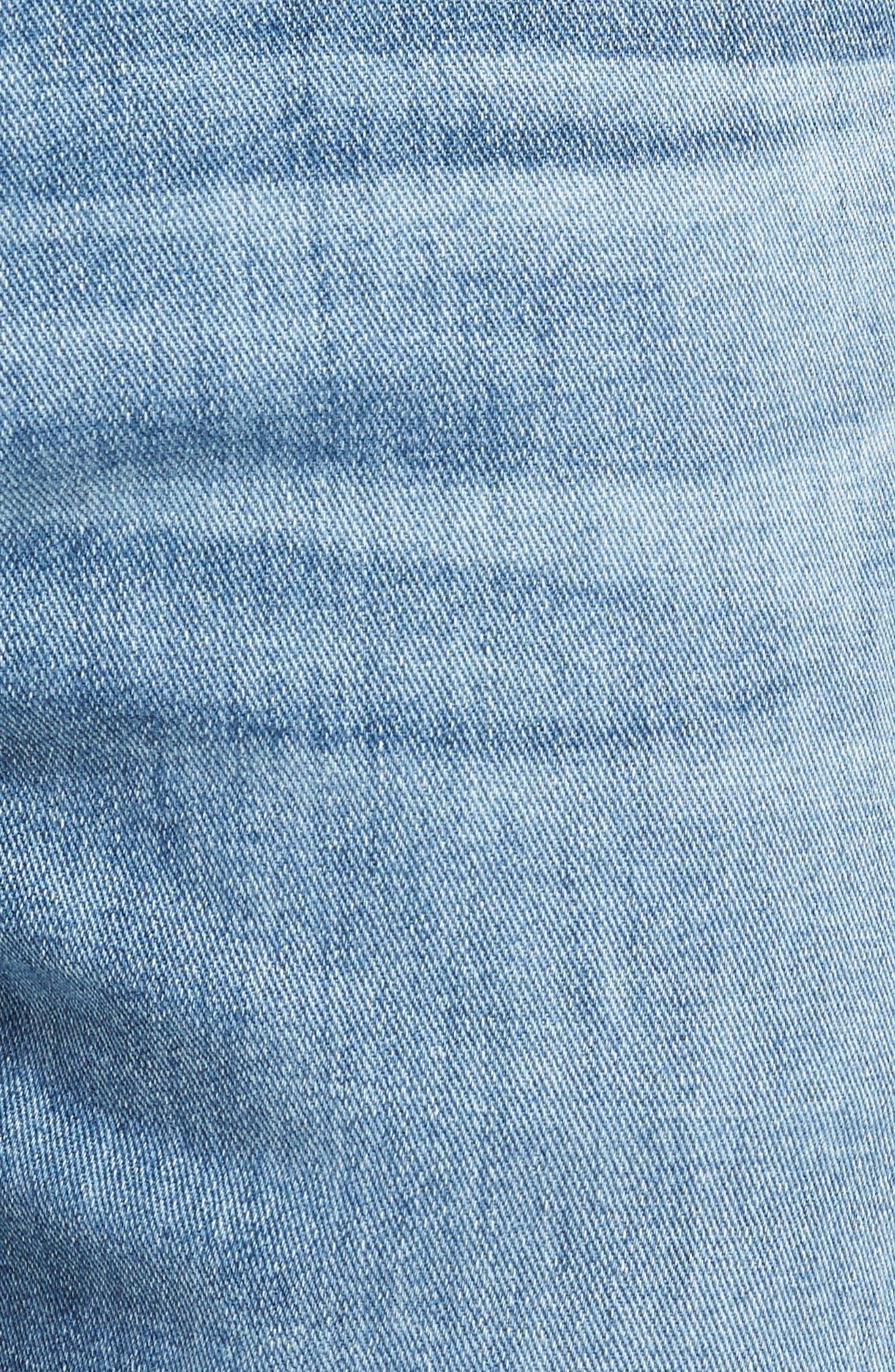 Graduate Slim Straight Leg Jeans,                             Alternate thumbnail 5, color,                             Sandpiper