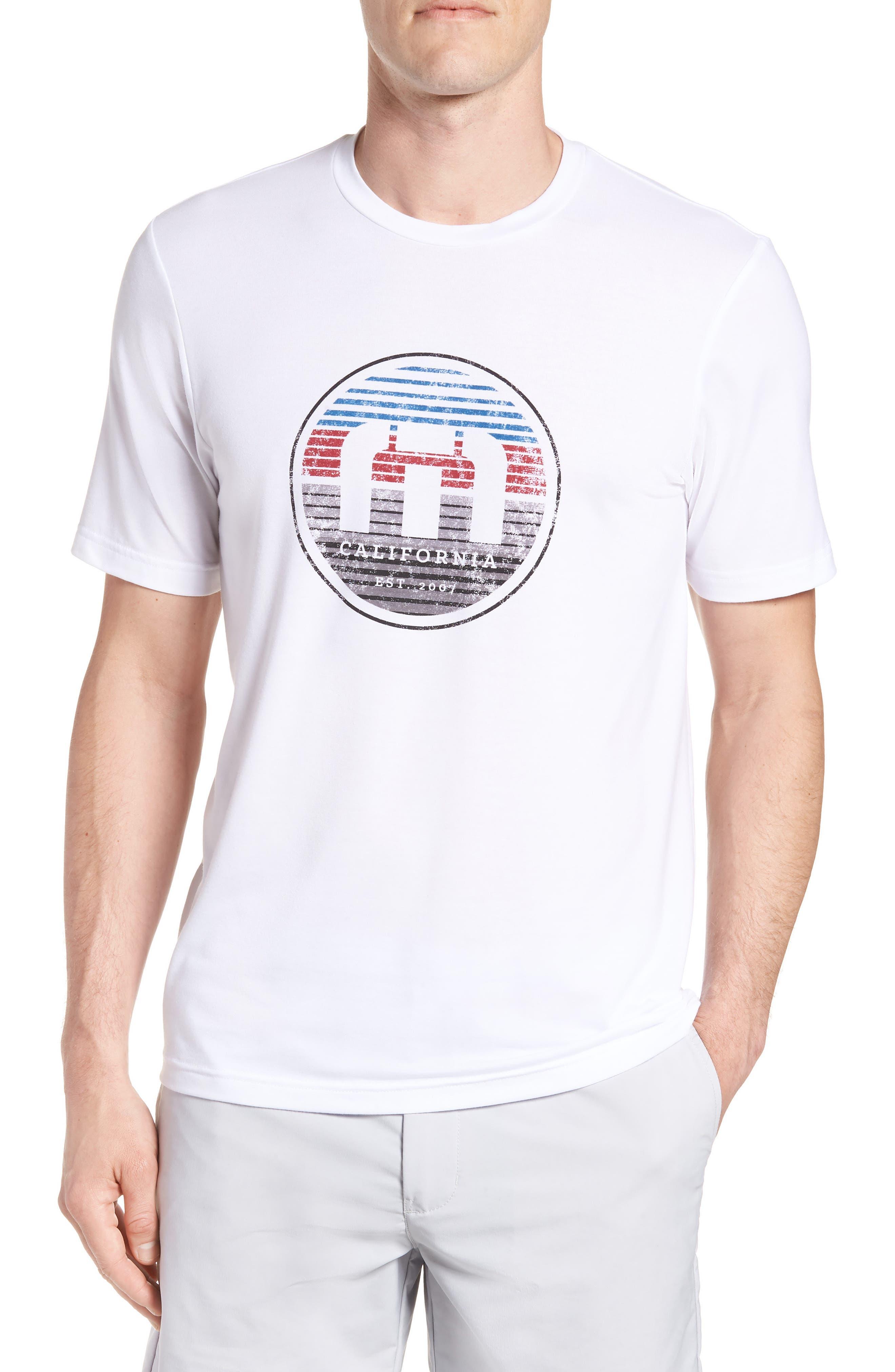 Travis Mathew Draft Crewneck T-Shirt
