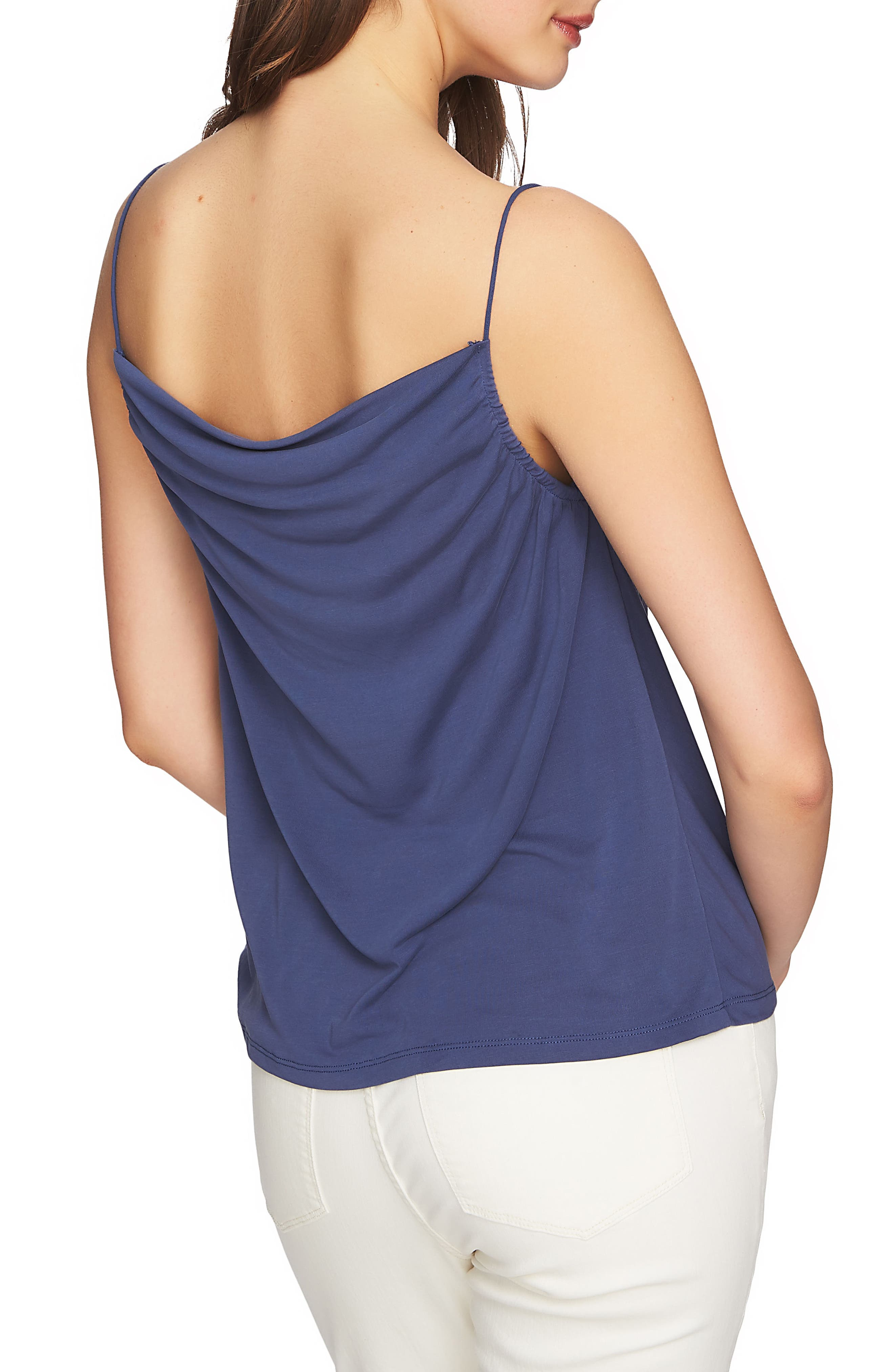 Cowl Neck Camisole,                             Alternate thumbnail 2, color,                             Moon Shade