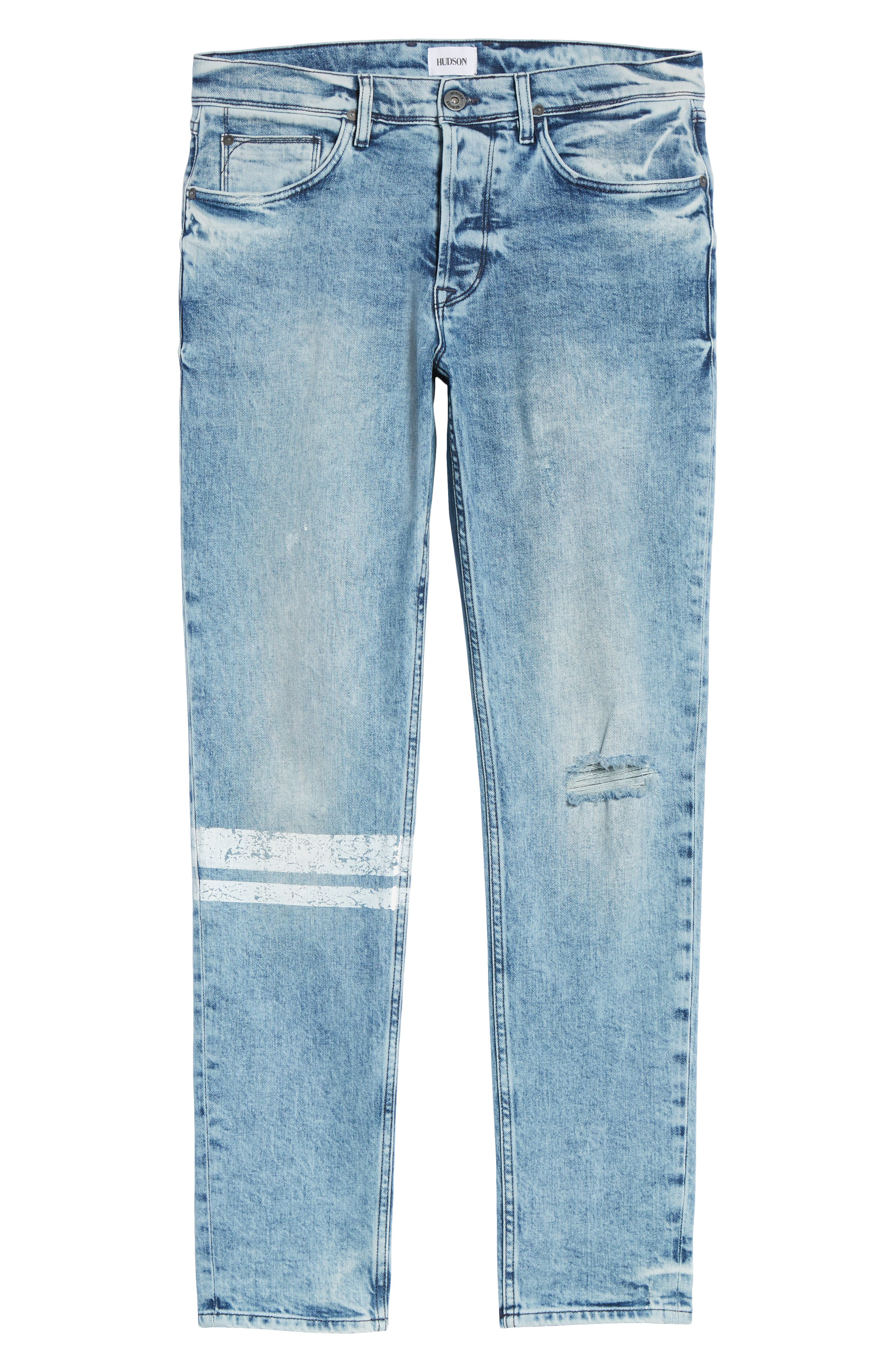Sartor Slouchy Skinny Fit Jeans,                             Alternate thumbnail 6, color,                             Wild Nothing
