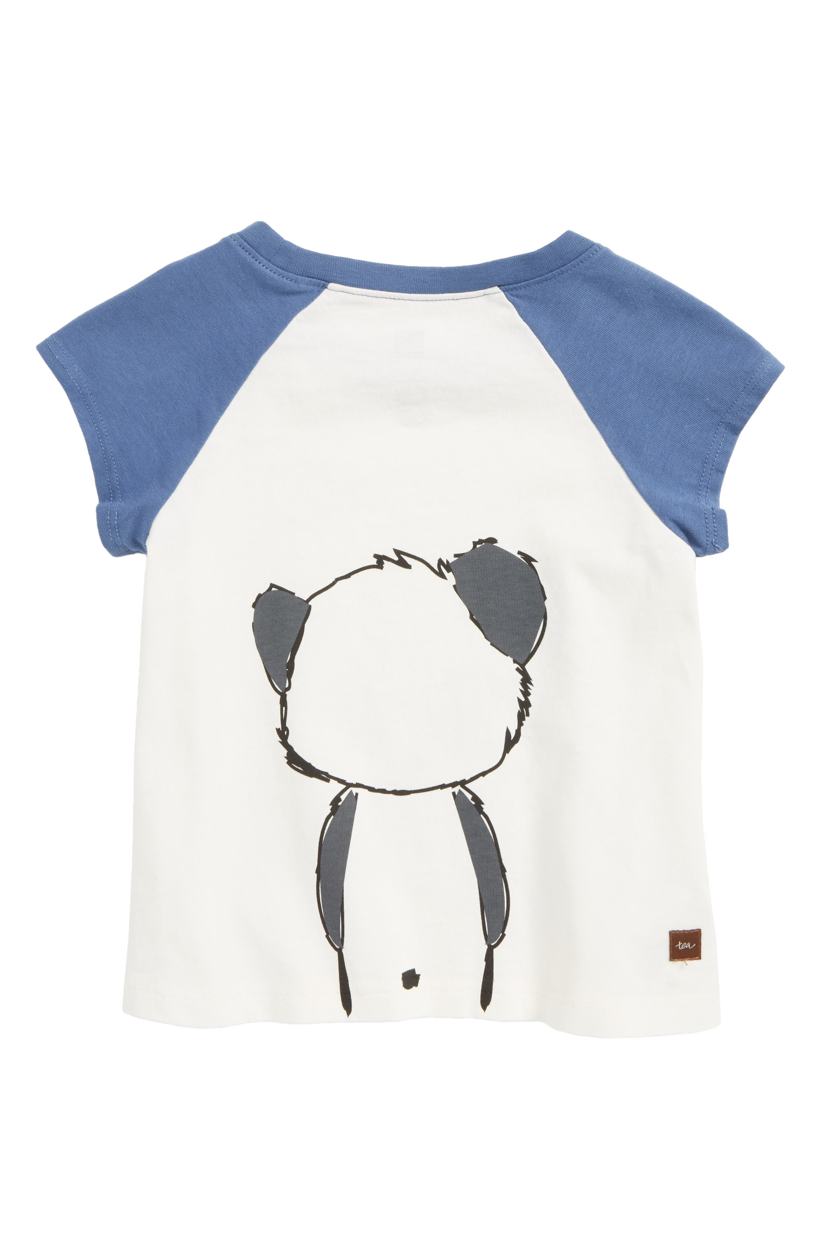 Little Panda Tee,                             Alternate thumbnail 2, color,                             Chalk