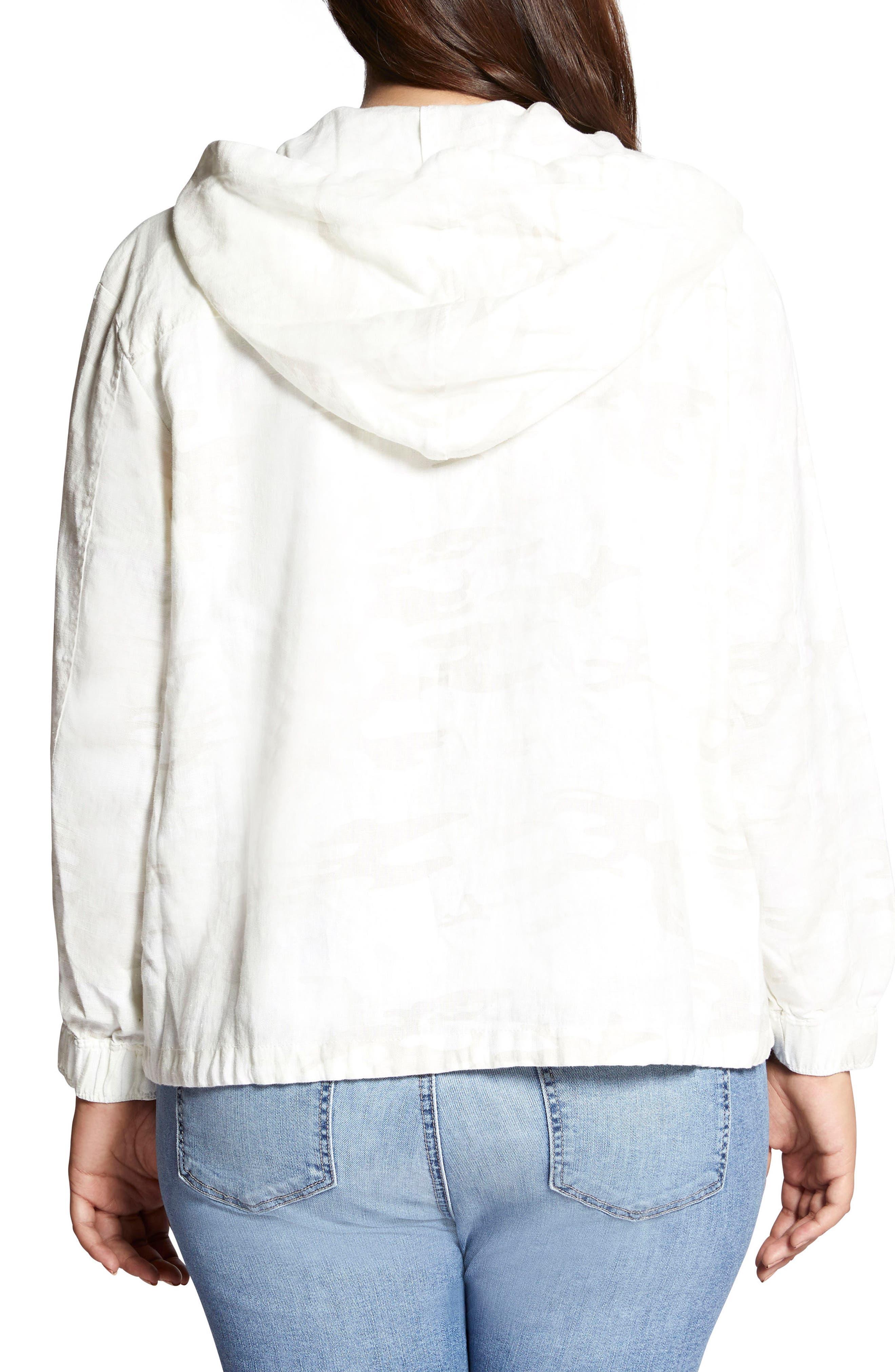 Nova Hooded Jacket,                             Alternate thumbnail 2, color,                             White Camo