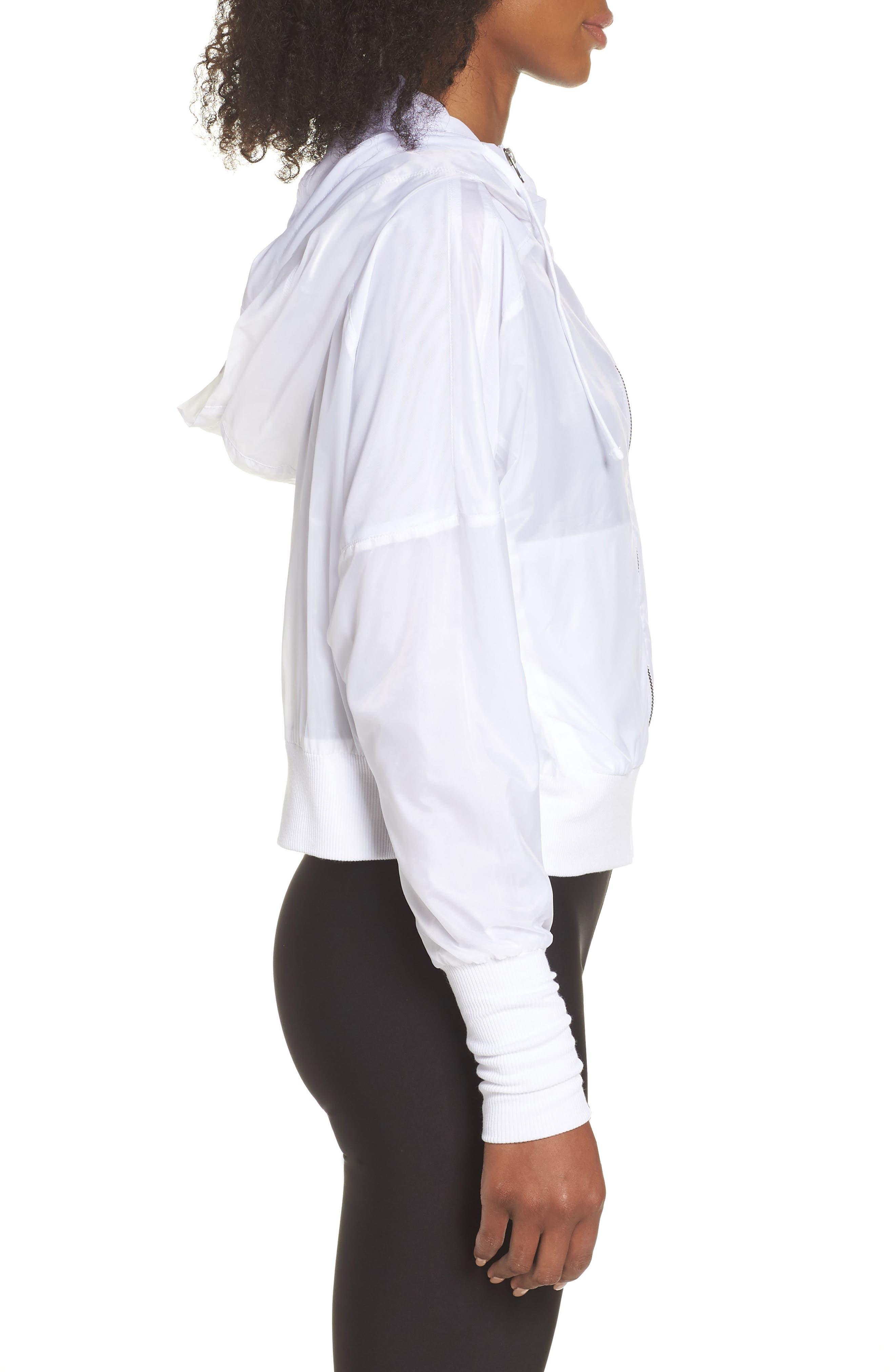 Aqua Jacket,                             Alternate thumbnail 3, color,                             White