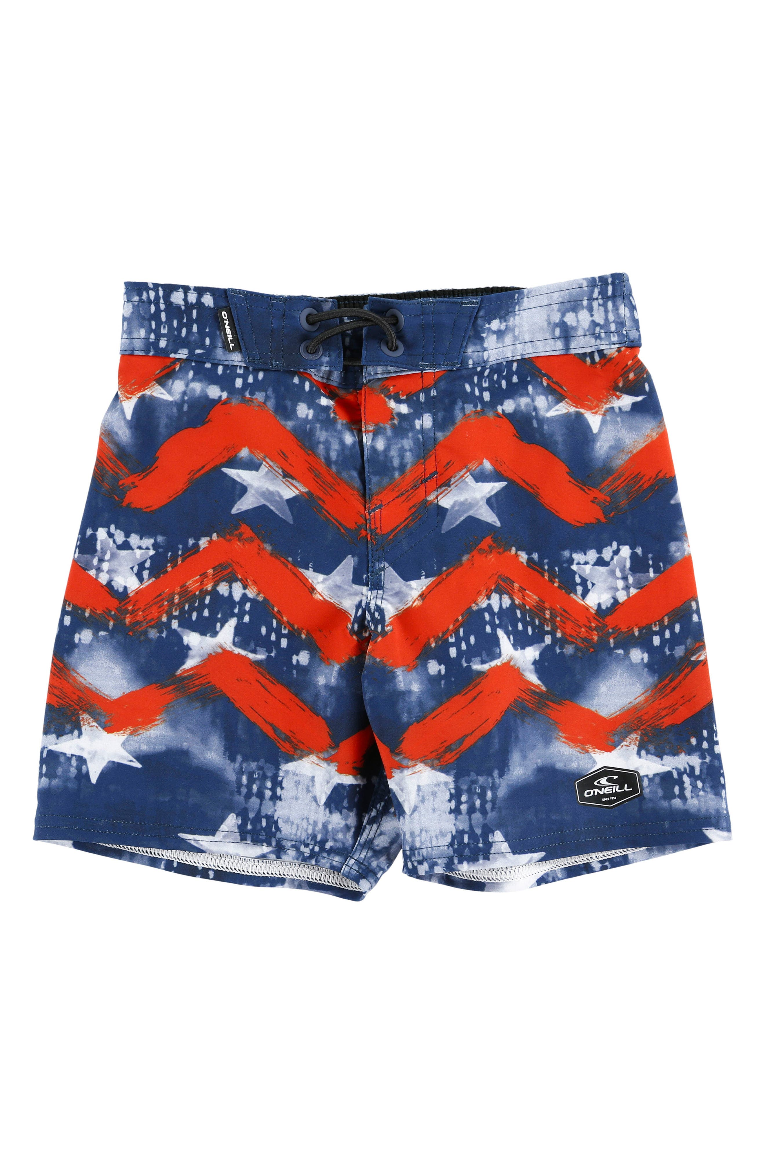 Hyperfreak Independence Board Shorts,                             Main thumbnail 1, color,                             Red White Blue