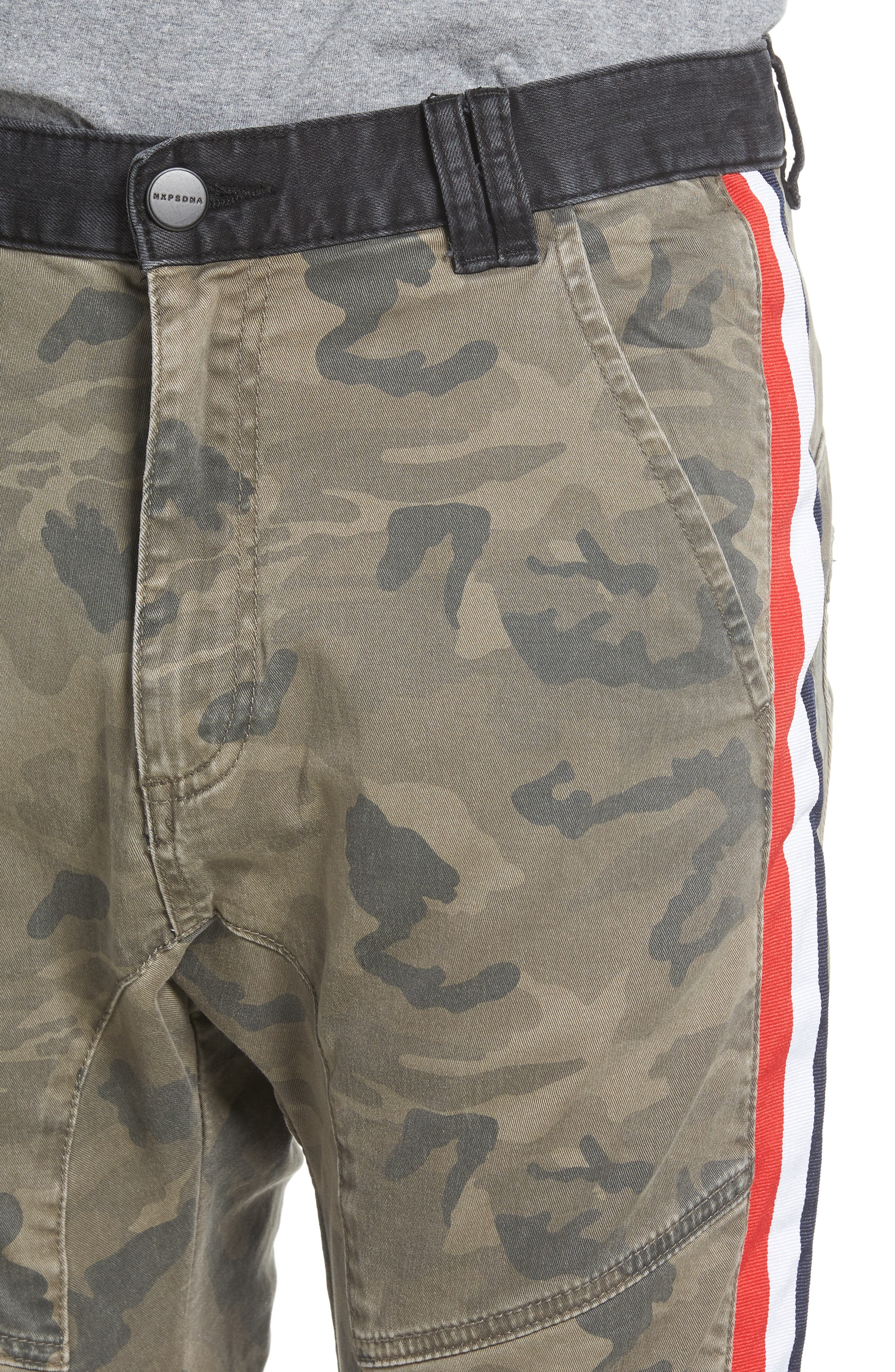 Sergeant Slim Fit Pants,                             Alternate thumbnail 4, color,                             Airwolf Camo