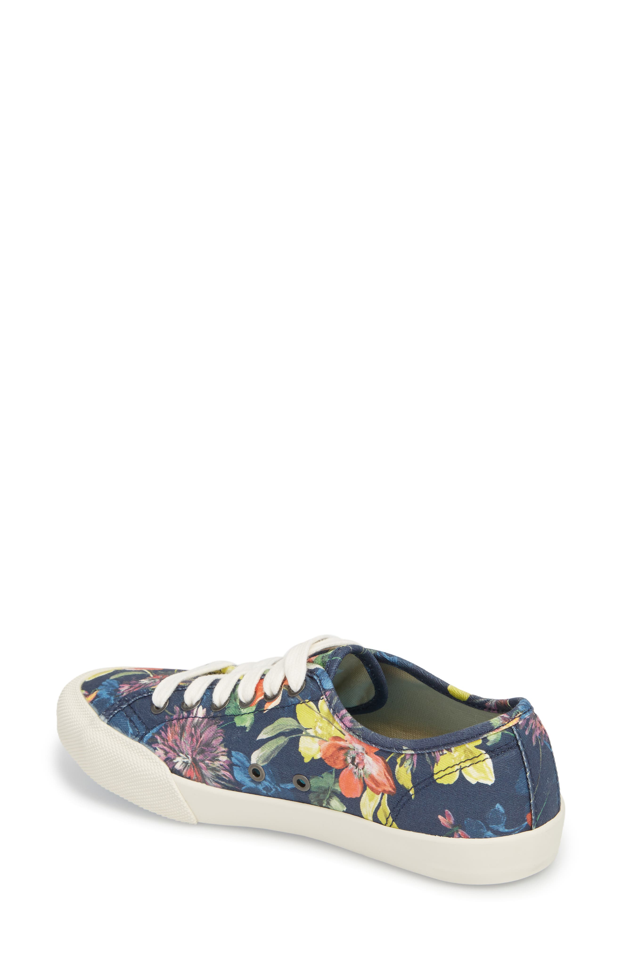 x Trina Turk Monterey Sneaker,                             Alternate thumbnail 2, color,                             Navy Chrysanthemum