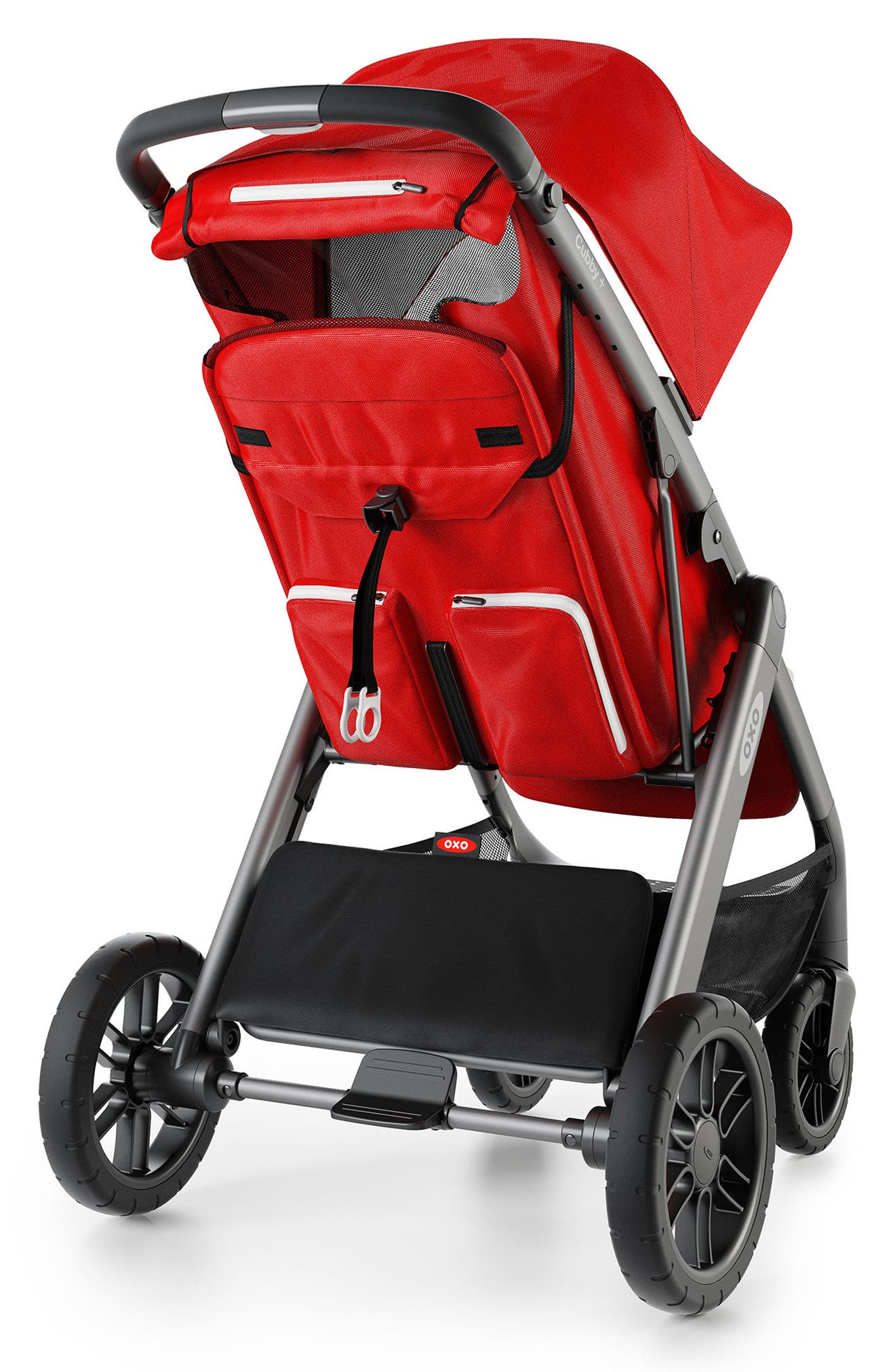 Cubby+ Stroller,                             Alternate thumbnail 2, color,                             Red