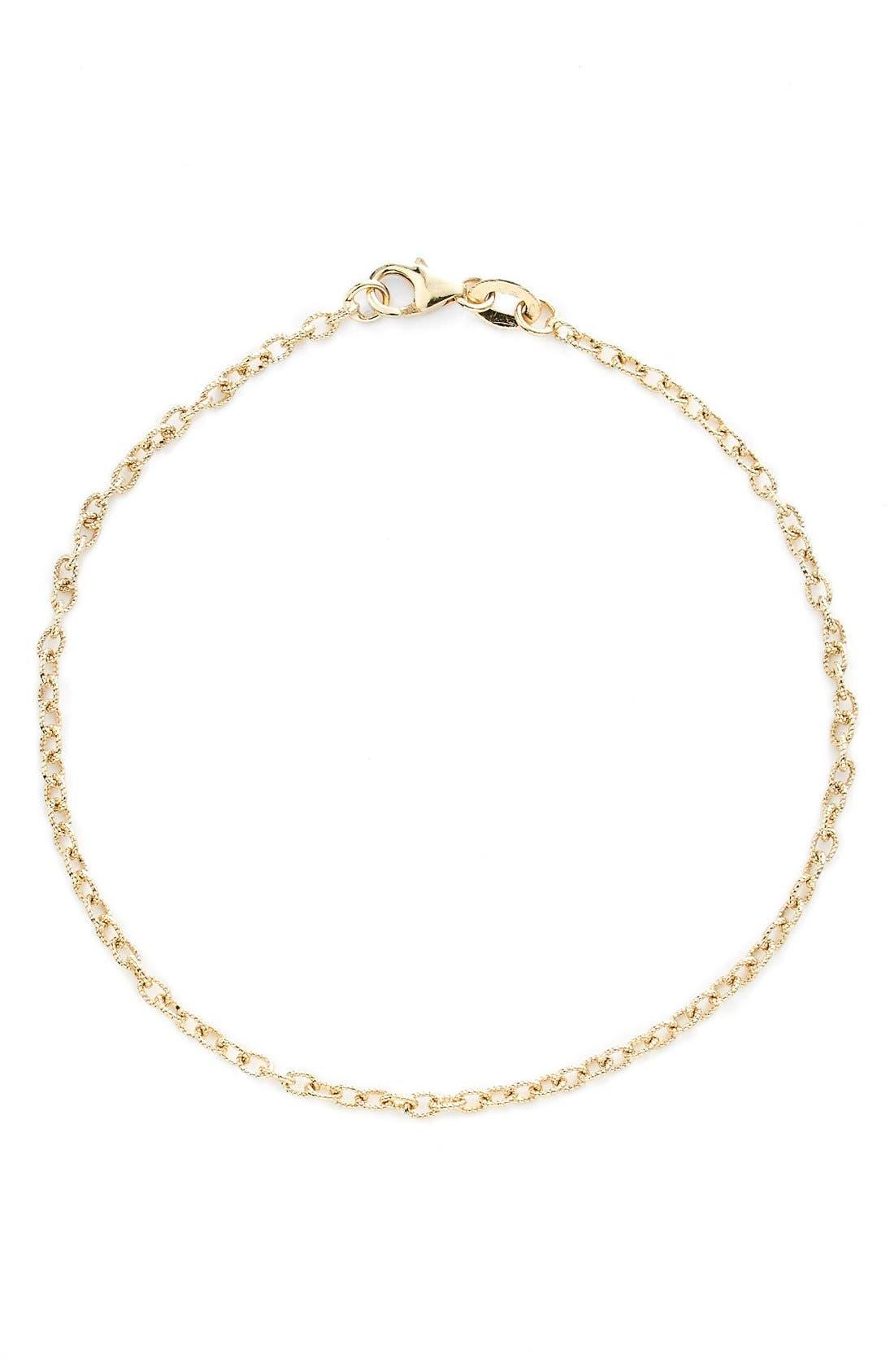 Bony Levy Etched Link Bracelet (Nordstrom Exclusive)