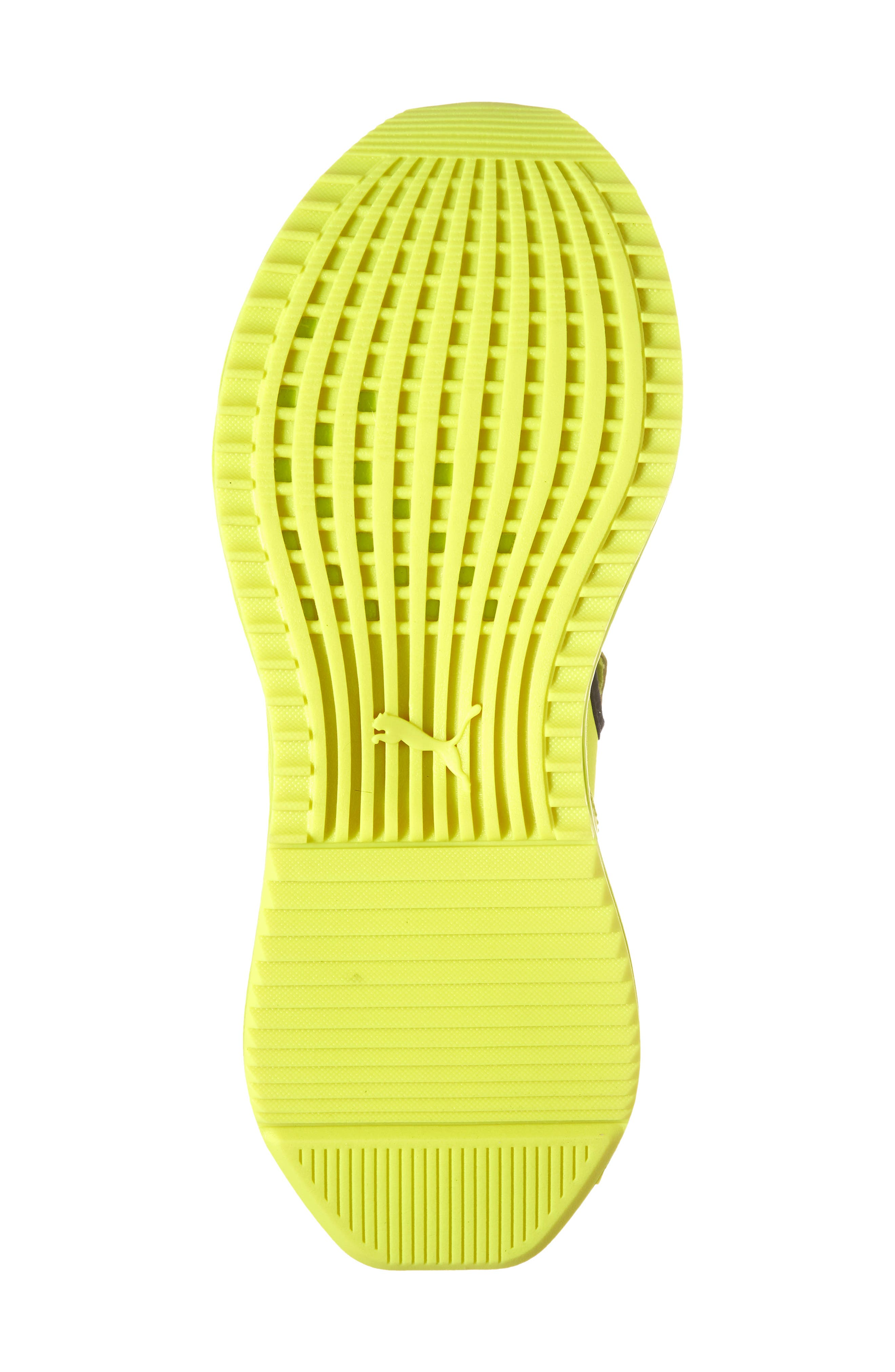 FENTY PUMA by Rihanna Avid Sneaker,                             Alternate thumbnail 6, color,                             Lime Punch/ Black/ Lime Punch