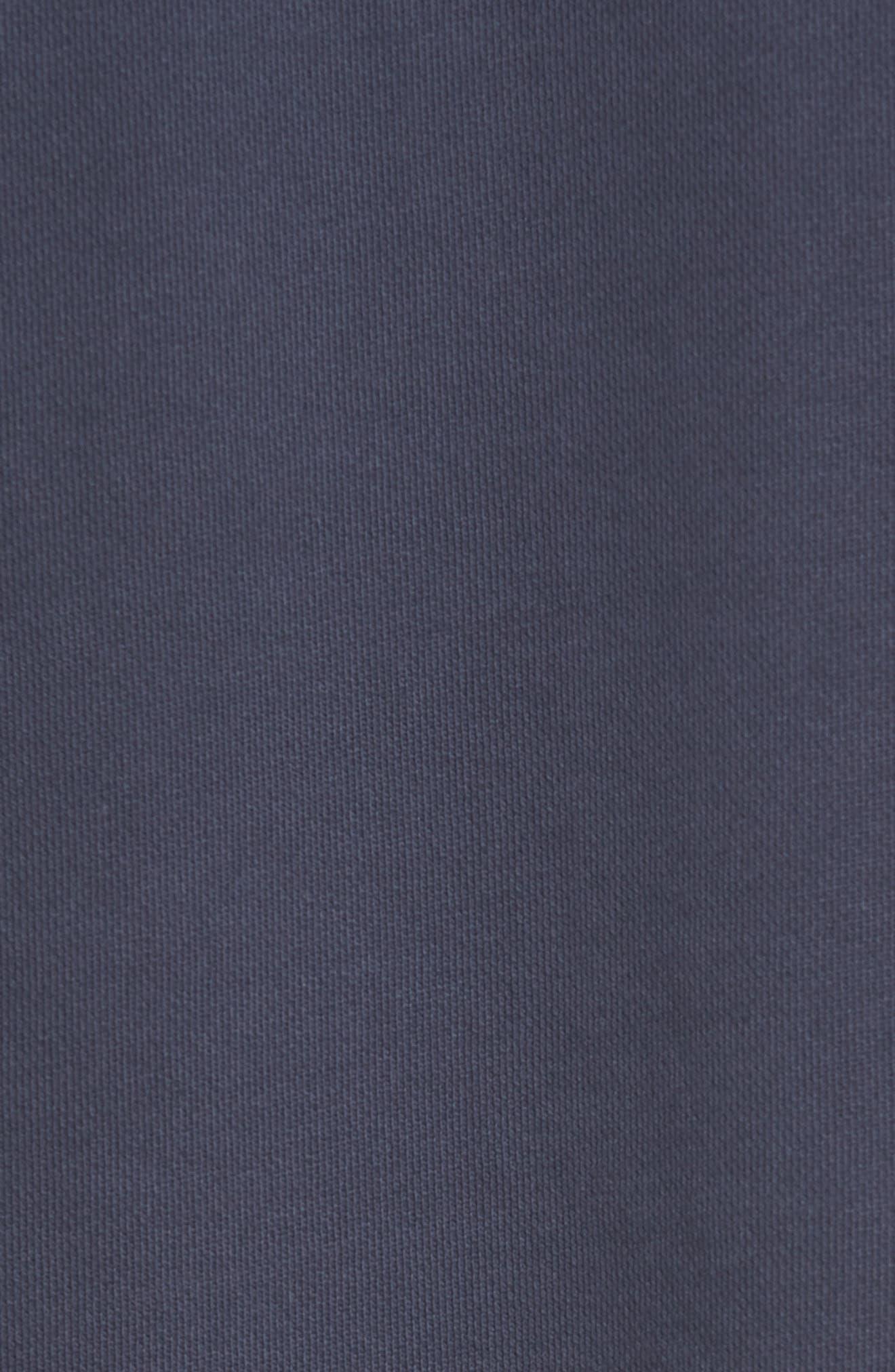 Brand Rugger Hooded Sweatshirt,                             Alternate thumbnail 5, color,                             Duke Blue