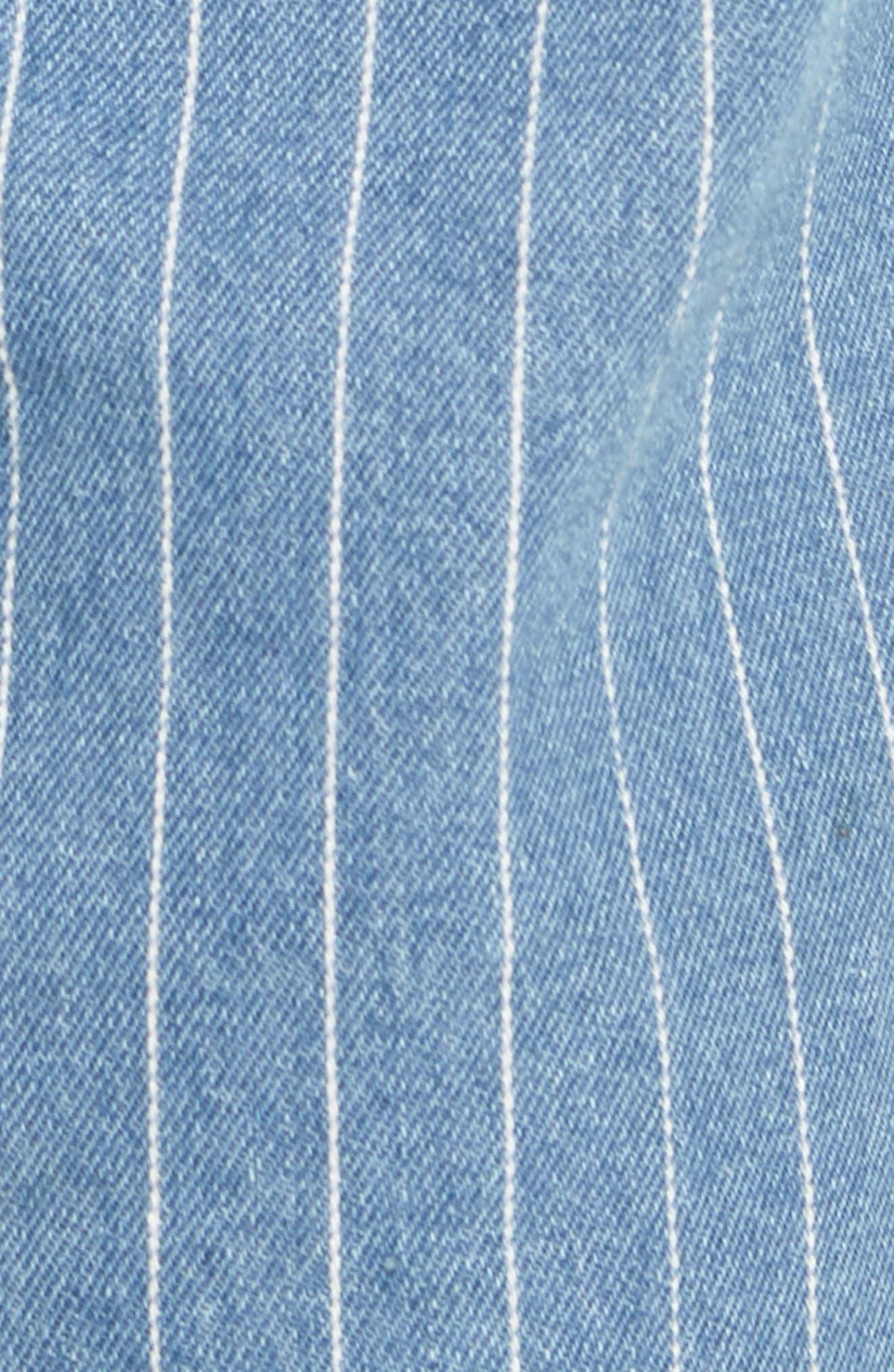 B. Relaxed Jeans,                             Alternate thumbnail 5, color,                             Stripe Denim Crop