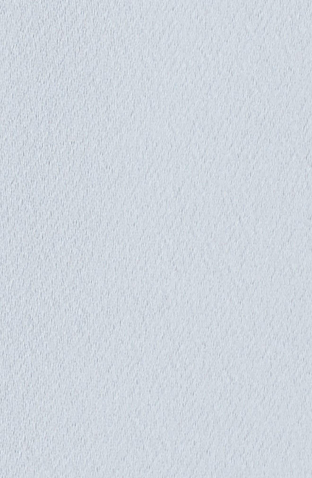 Off the Shoulder Tulip Gown,                             Alternate thumbnail 5, color,                             Soft Blue