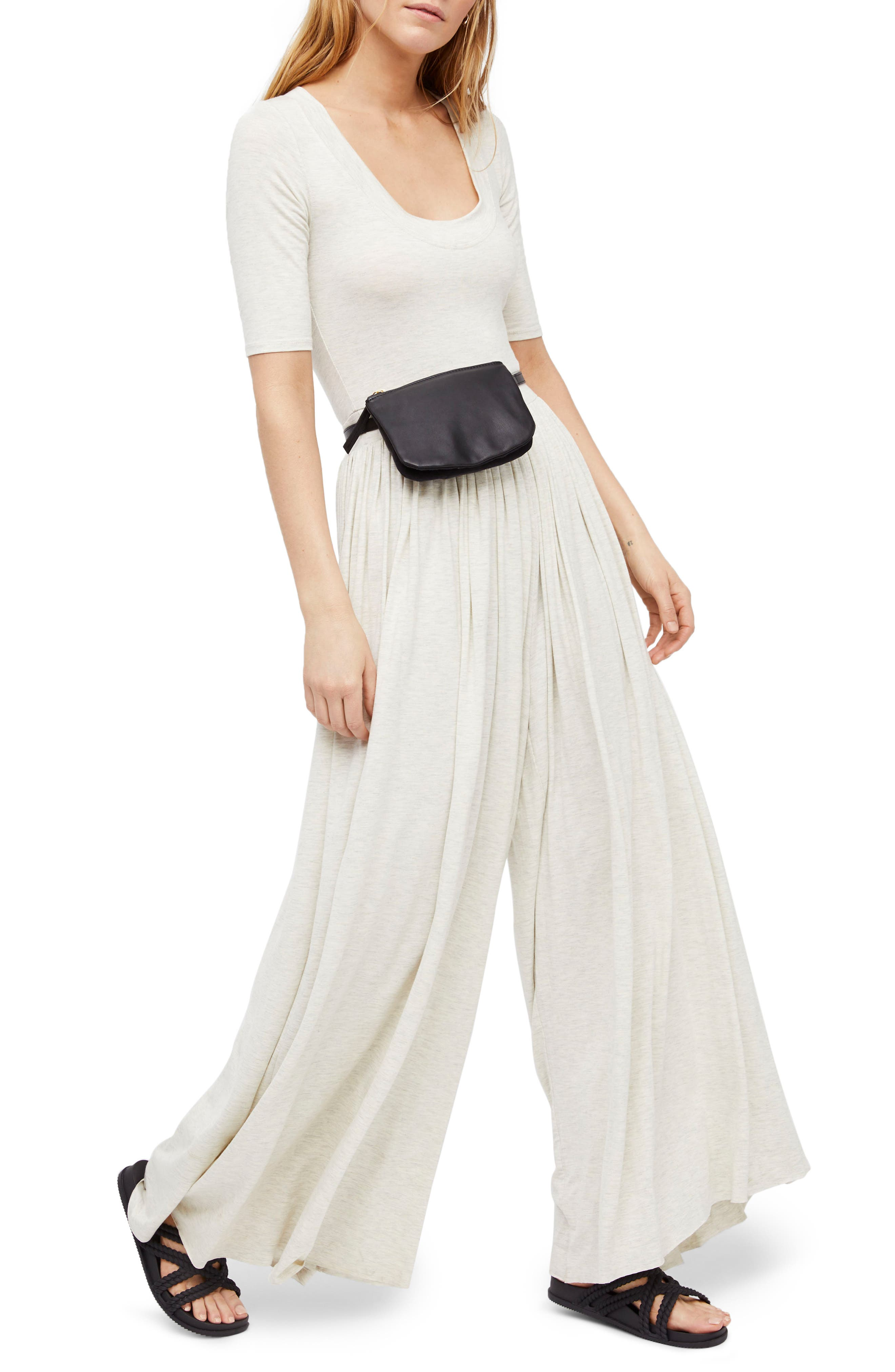 Endless Summer by Free People Rosebowl Jumpsuit,                             Main thumbnail 1, color,                             Neutral