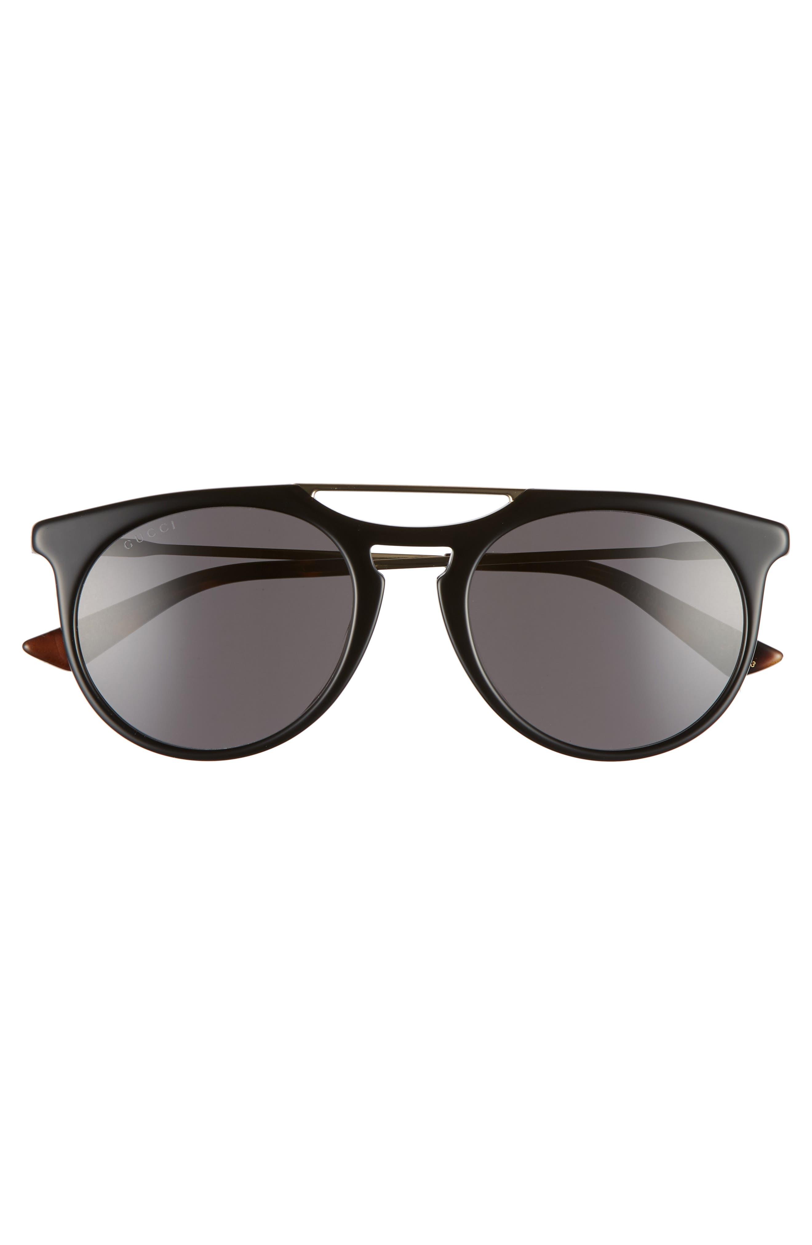 Light Combi 53mm Sunglasses,                             Alternate thumbnail 2, color,                             Gold/ Dark Havana