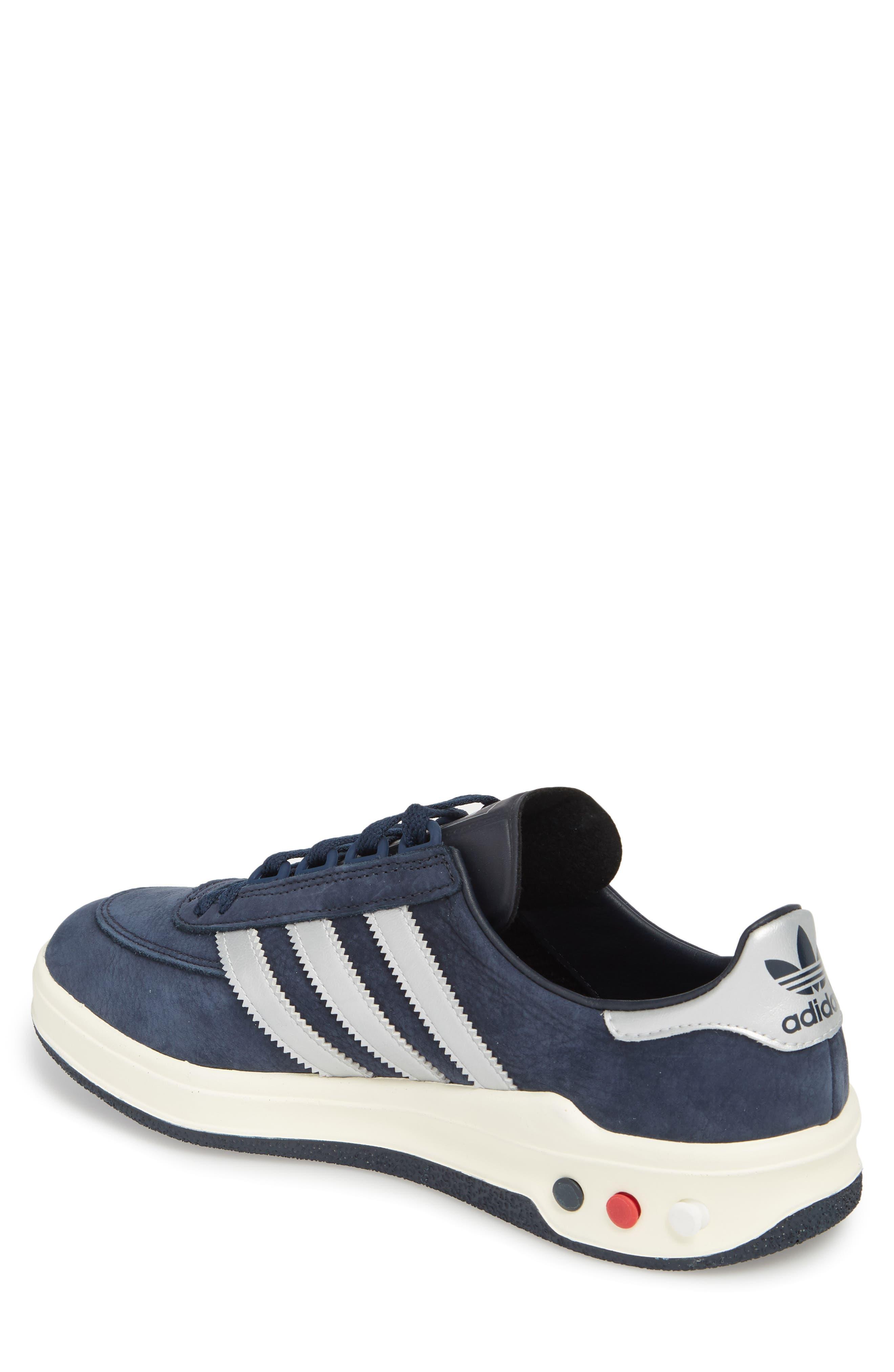 CLMBA SPZL Sneaker,                             Alternate thumbnail 2, color,                             Night Navy/ Silver/ White
