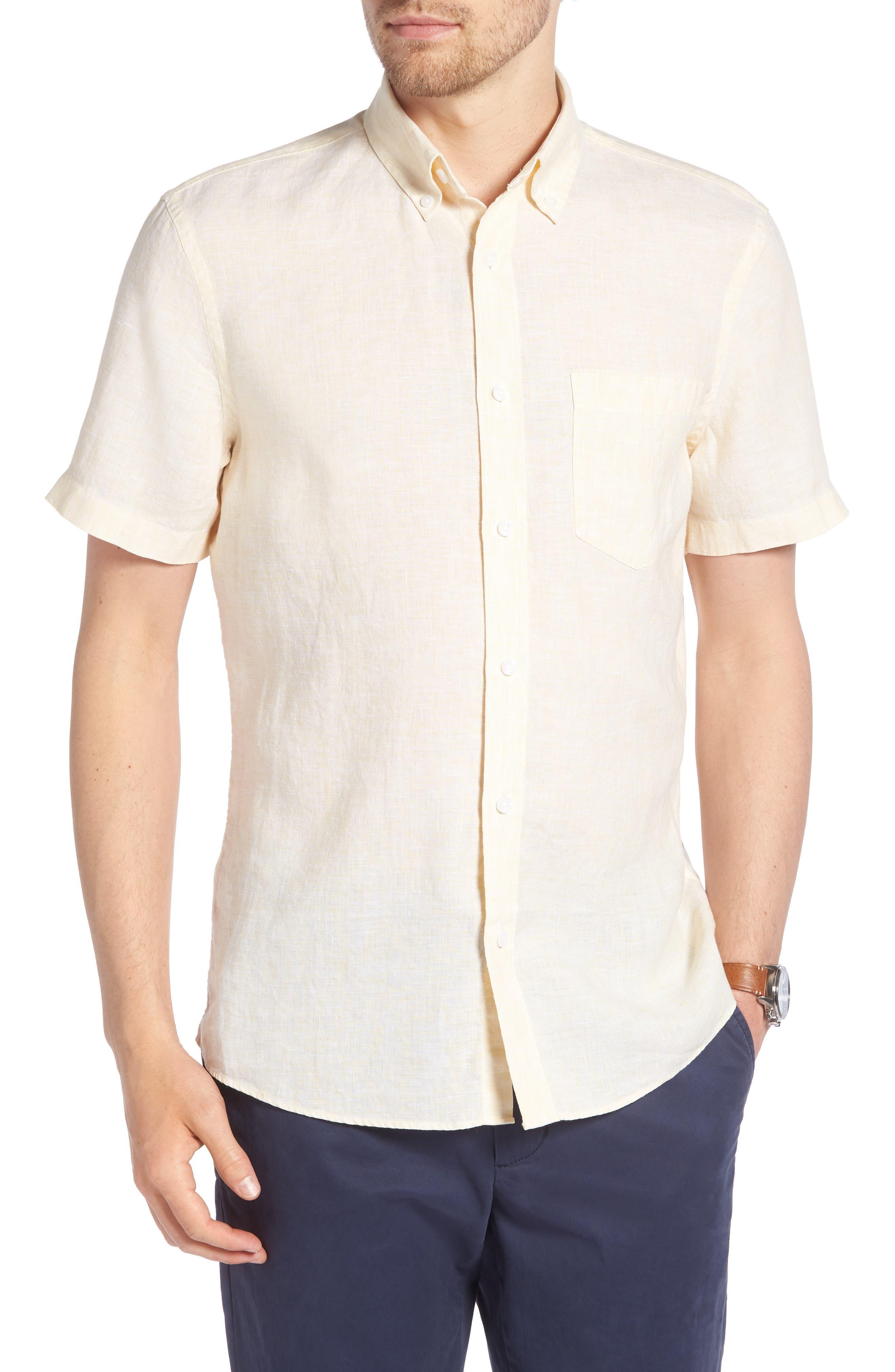 1901 Trim Fit Linen Sport Shirt