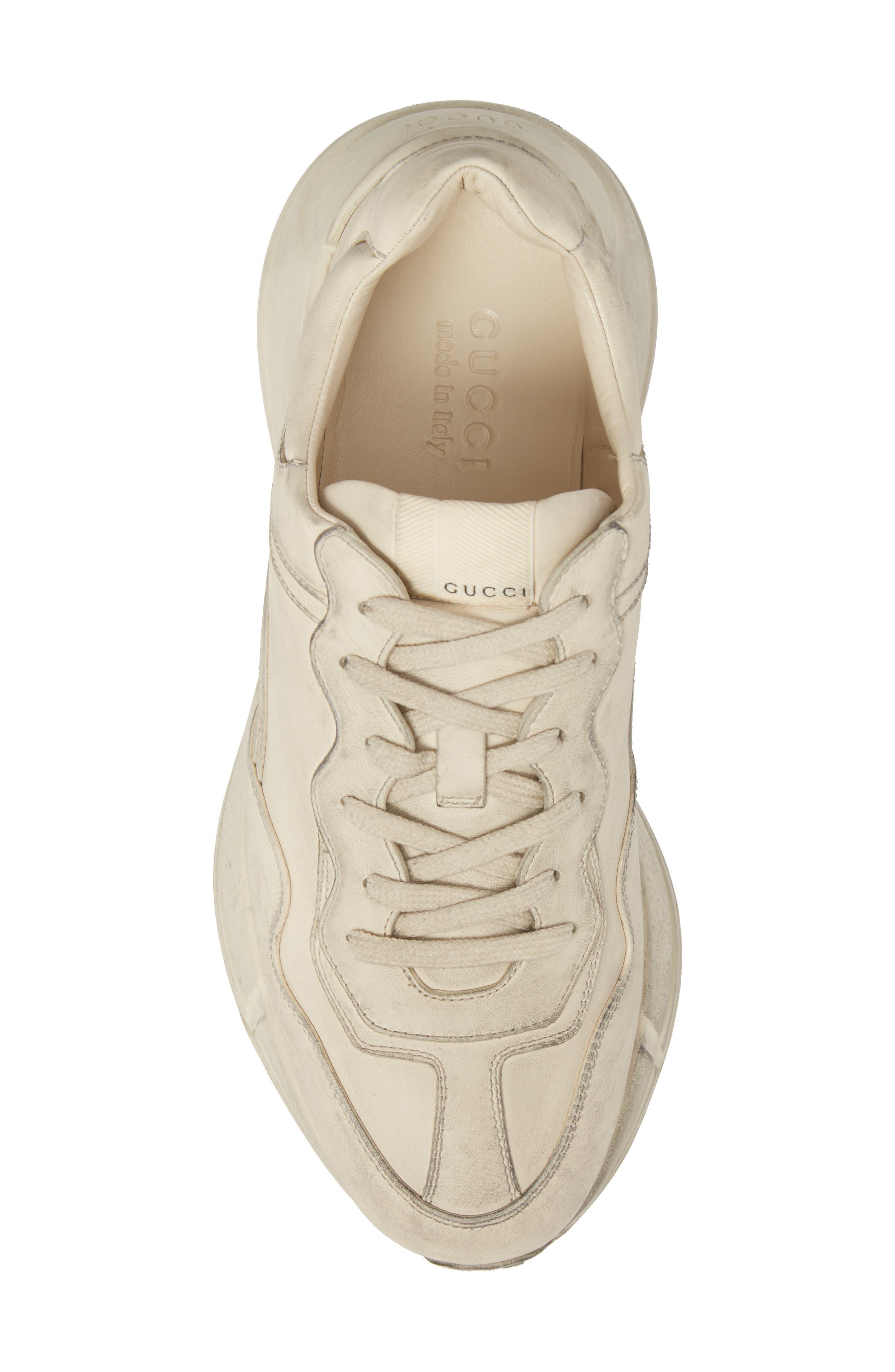 Rhyton Sneaker,                             Alternate thumbnail 5, color,                             Ivory White