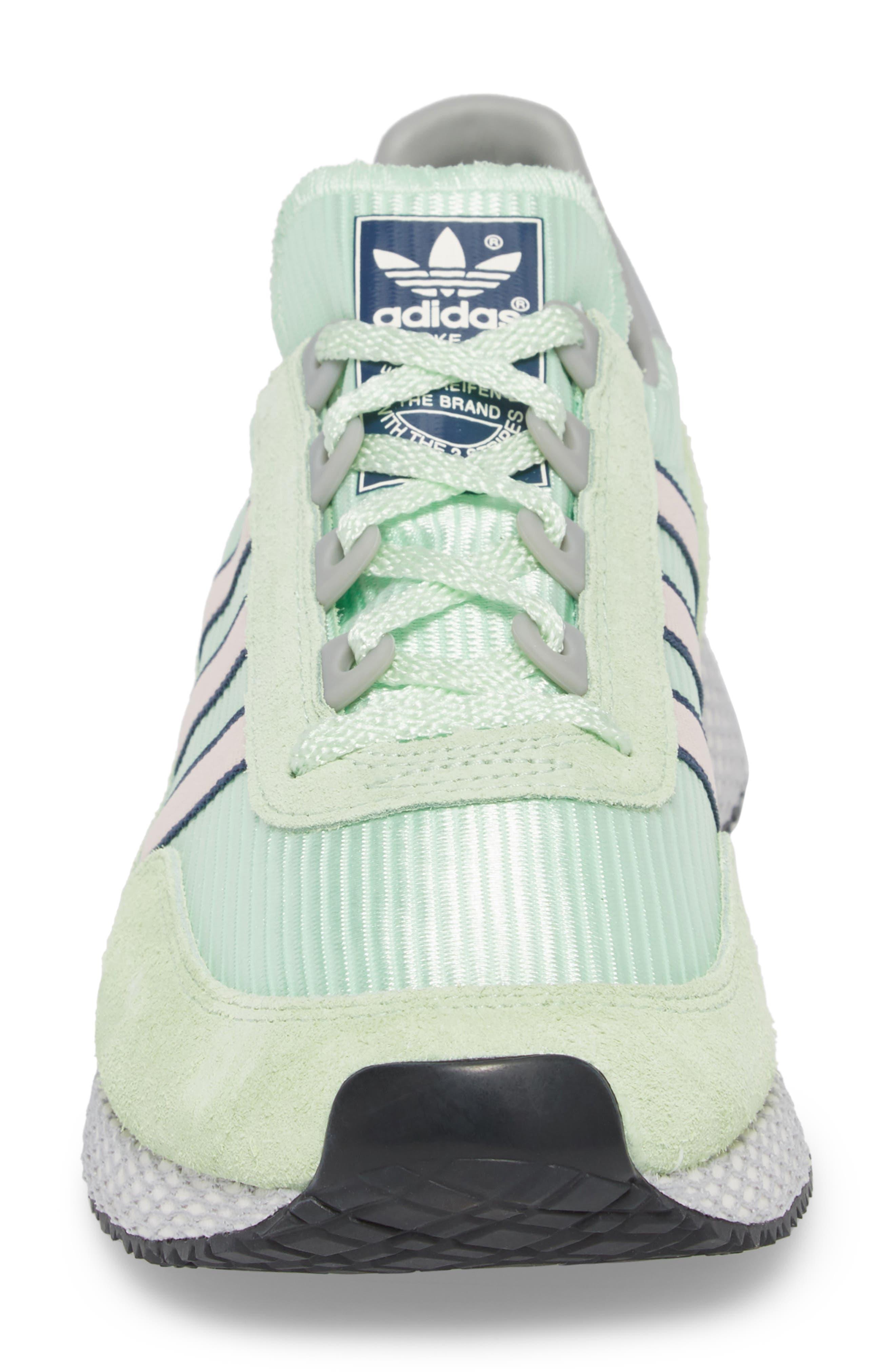 Glenbuck SPZL Sneaker,                             Alternate thumbnail 4, color,                             Green