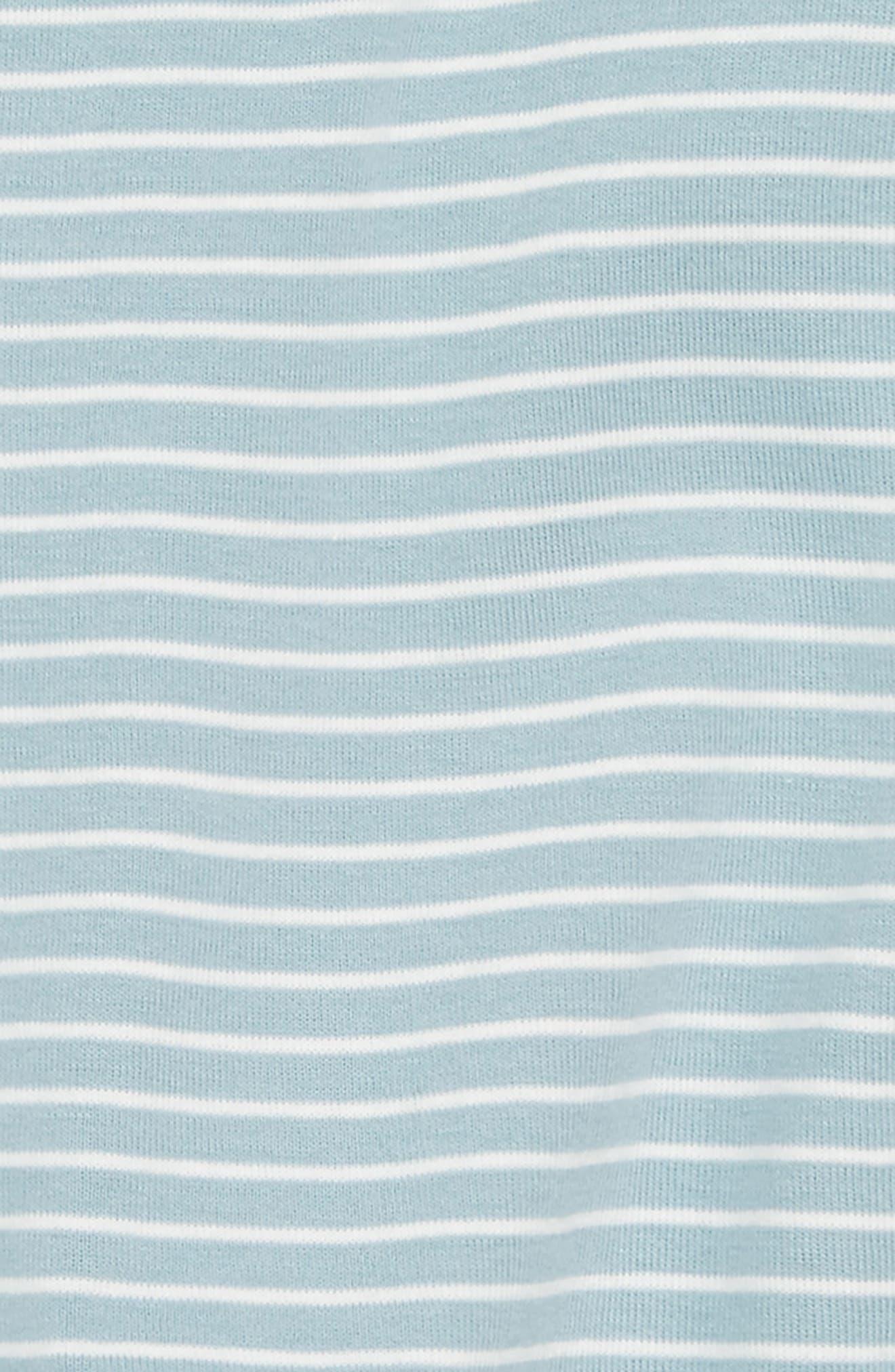 Stripe Wrap Romper,                             Alternate thumbnail 2, color,                             Tourmaline