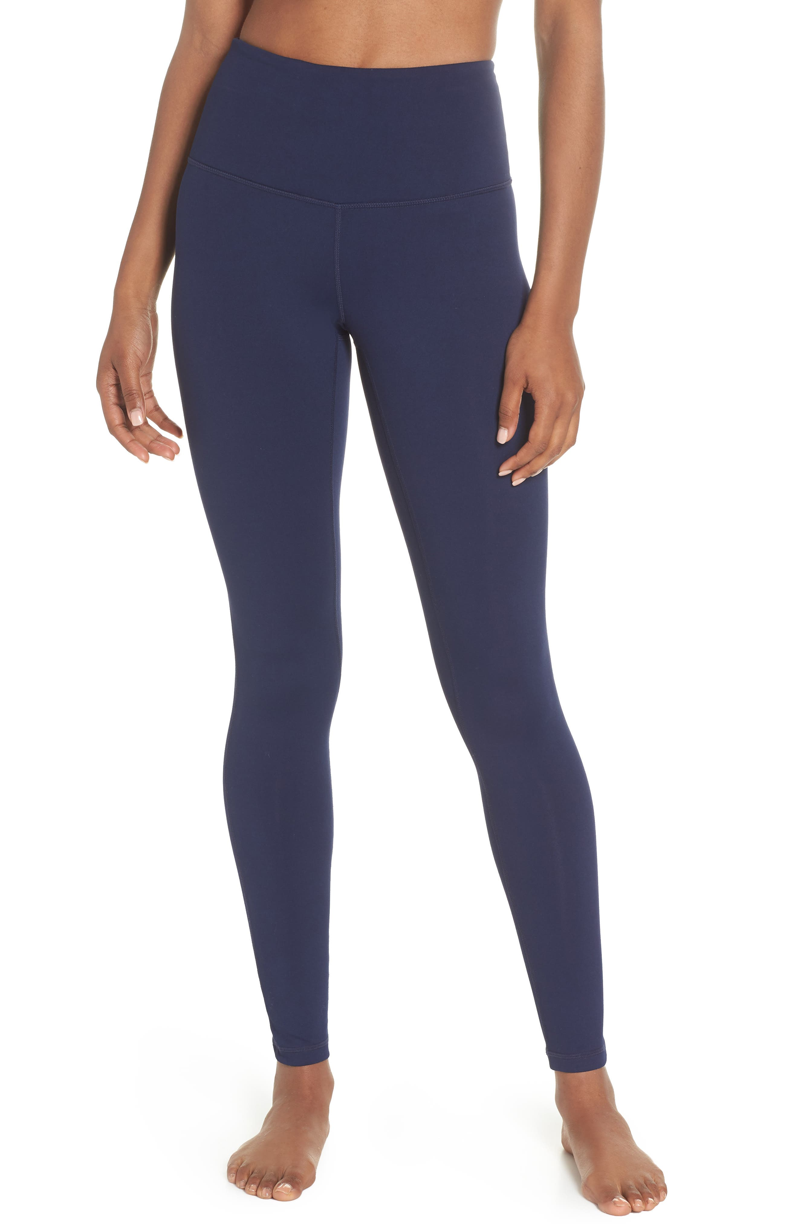 Live In High Waist Leggings,                             Main thumbnail 1, color,                             Navy Maritime