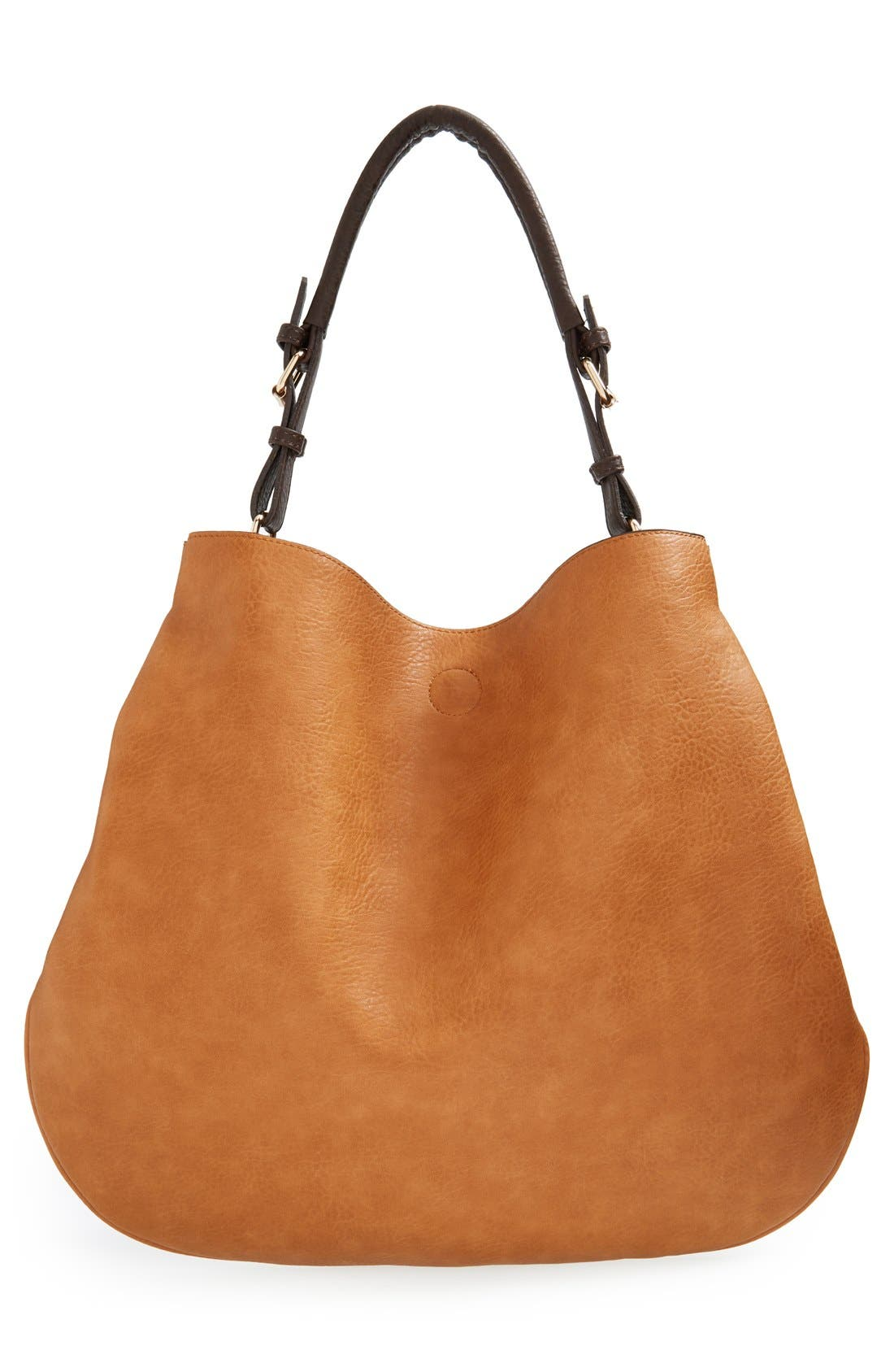 Alternate Image 3  - Sole Society 'Capri' Faux Leather Tote