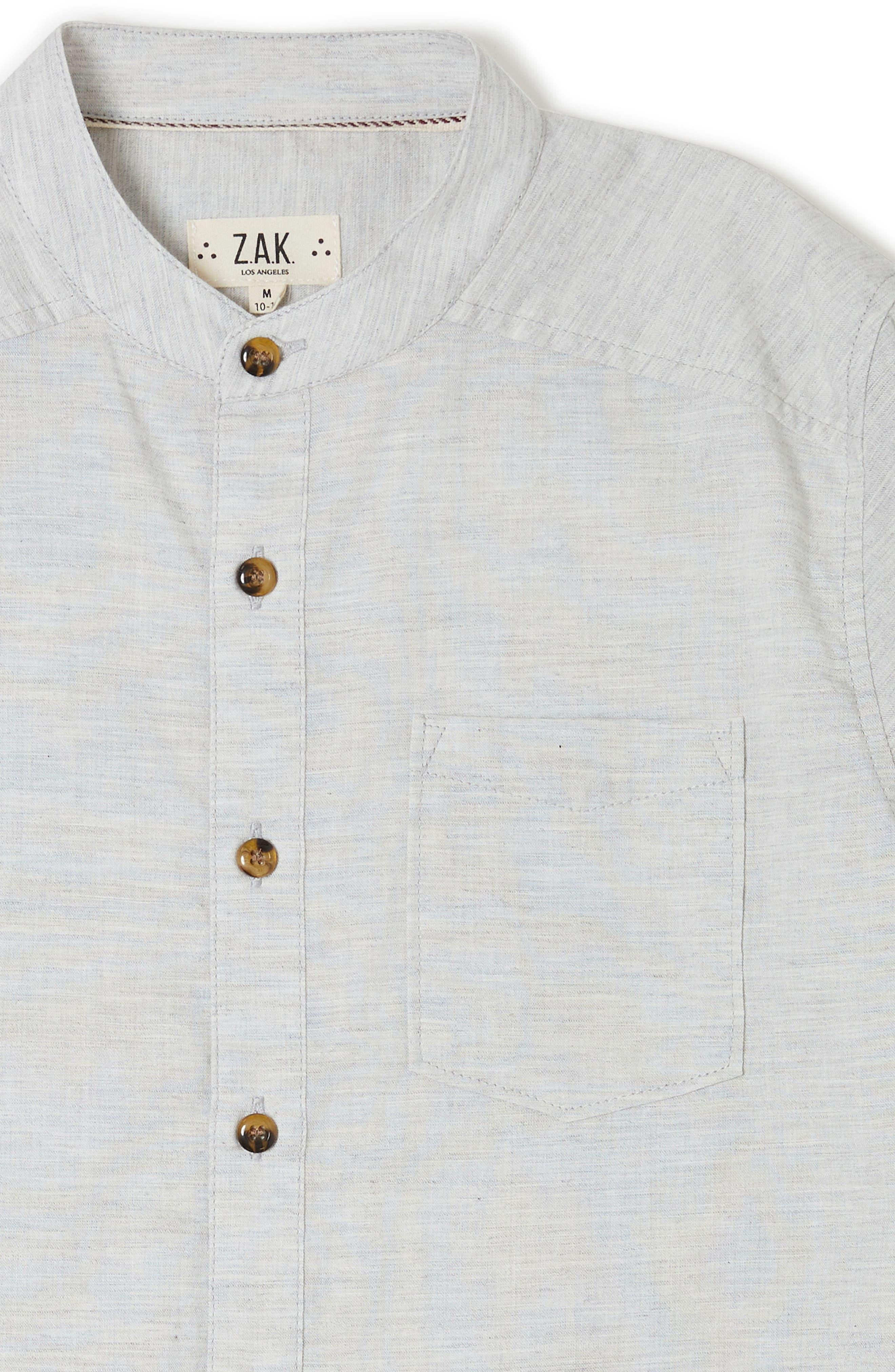 Rancho Long Sleeve Shirt,                             Alternate thumbnail 2, color,                             Grey