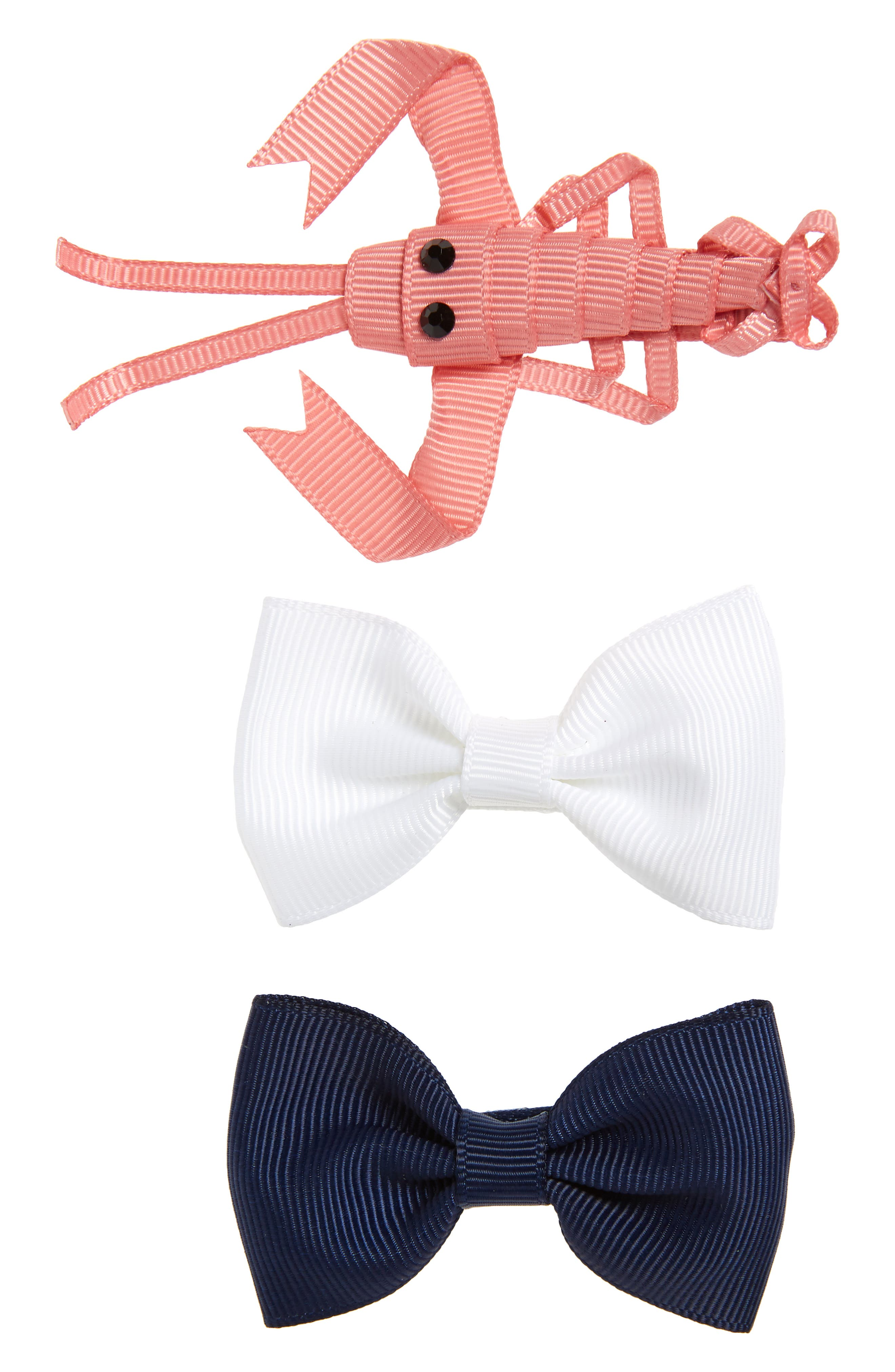 Milledeux Set of 3 Hair Clips (Girls)