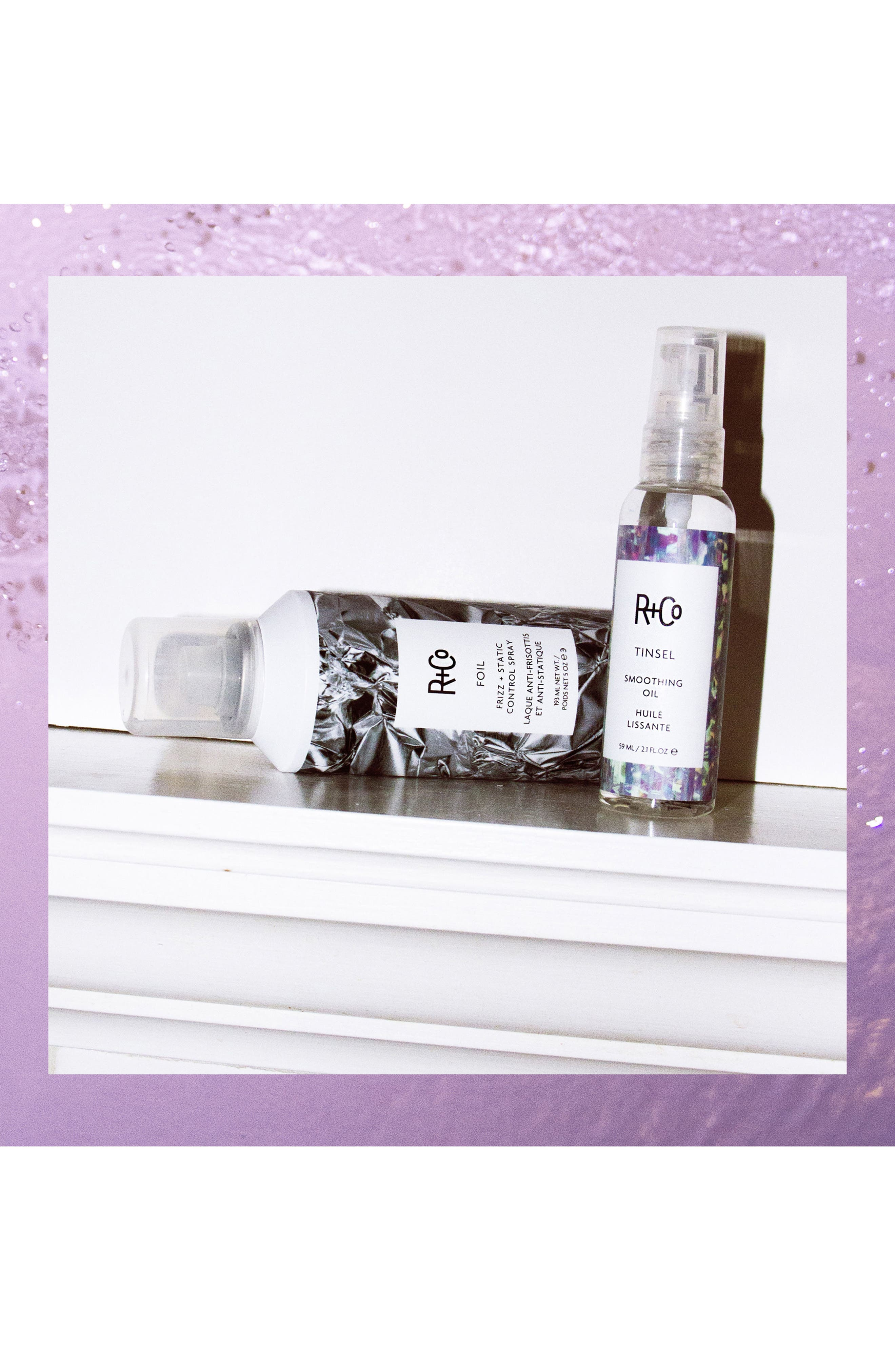 Space.NK.apothecary R+Co Foil Frizz + Static Control Spray,                             Alternate thumbnail 4, color,                             No Color