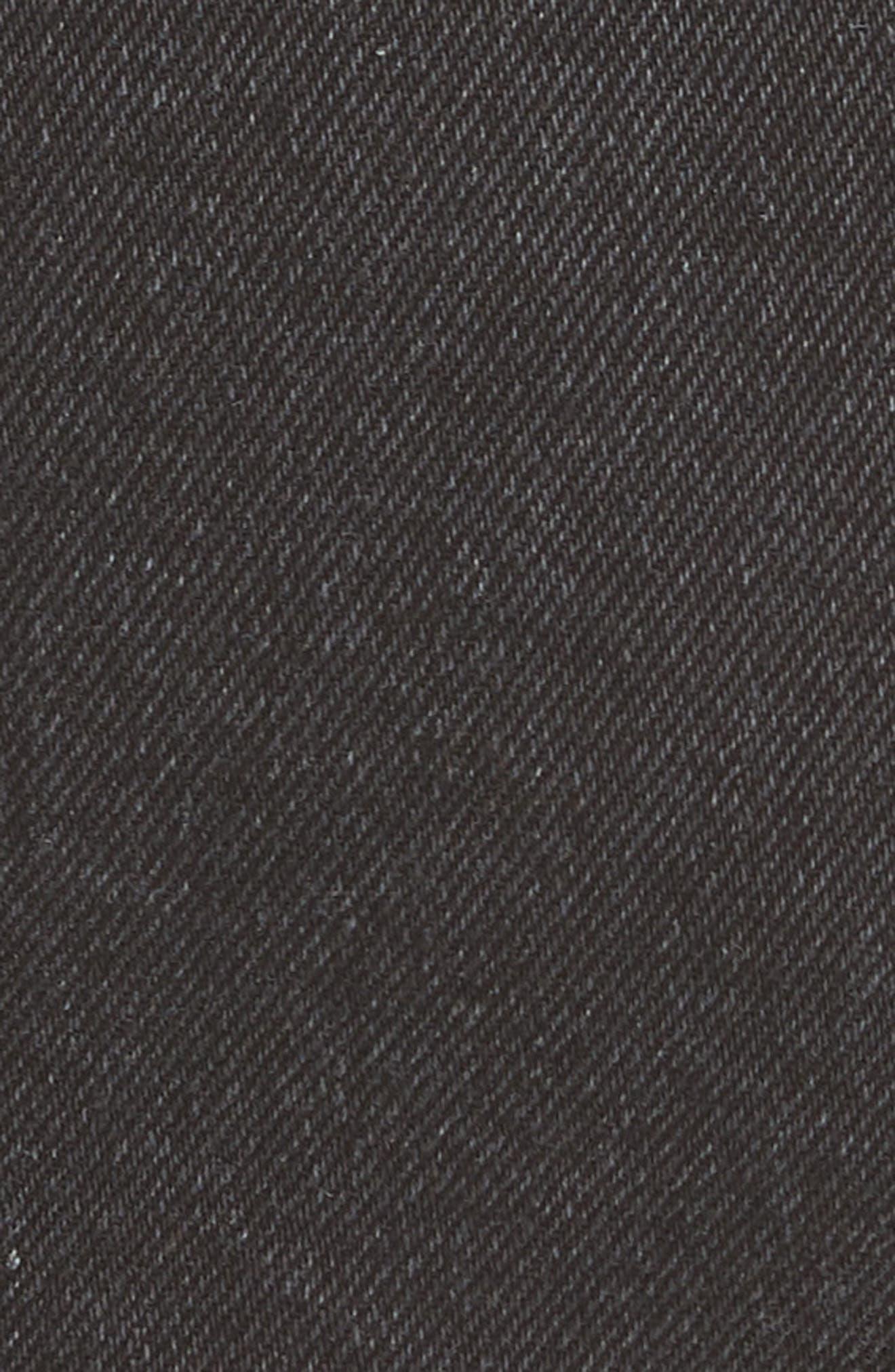 She's All That Denim Miniskirt,                             Alternate thumbnail 5, color,                             Black