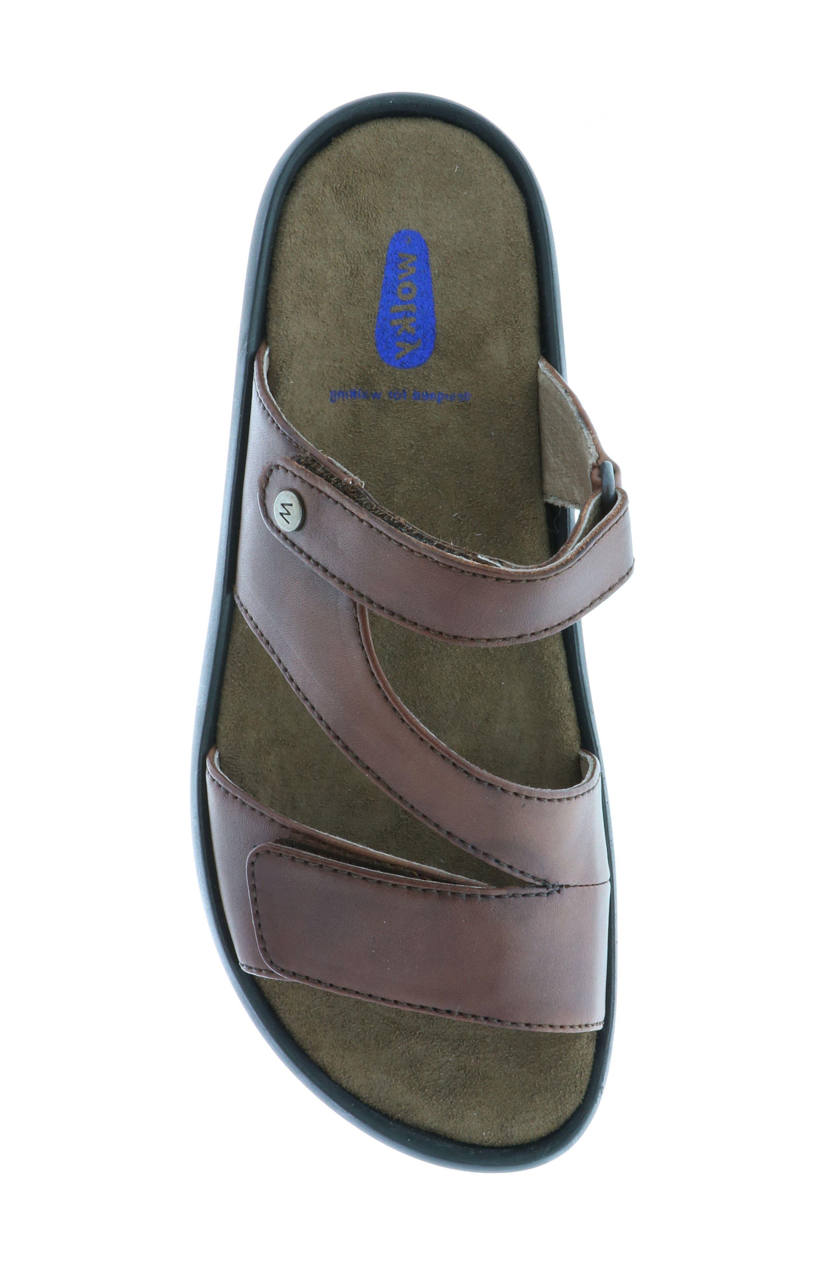 Sense Slide Sandal,                             Alternate thumbnail 5, color,                             Cognac