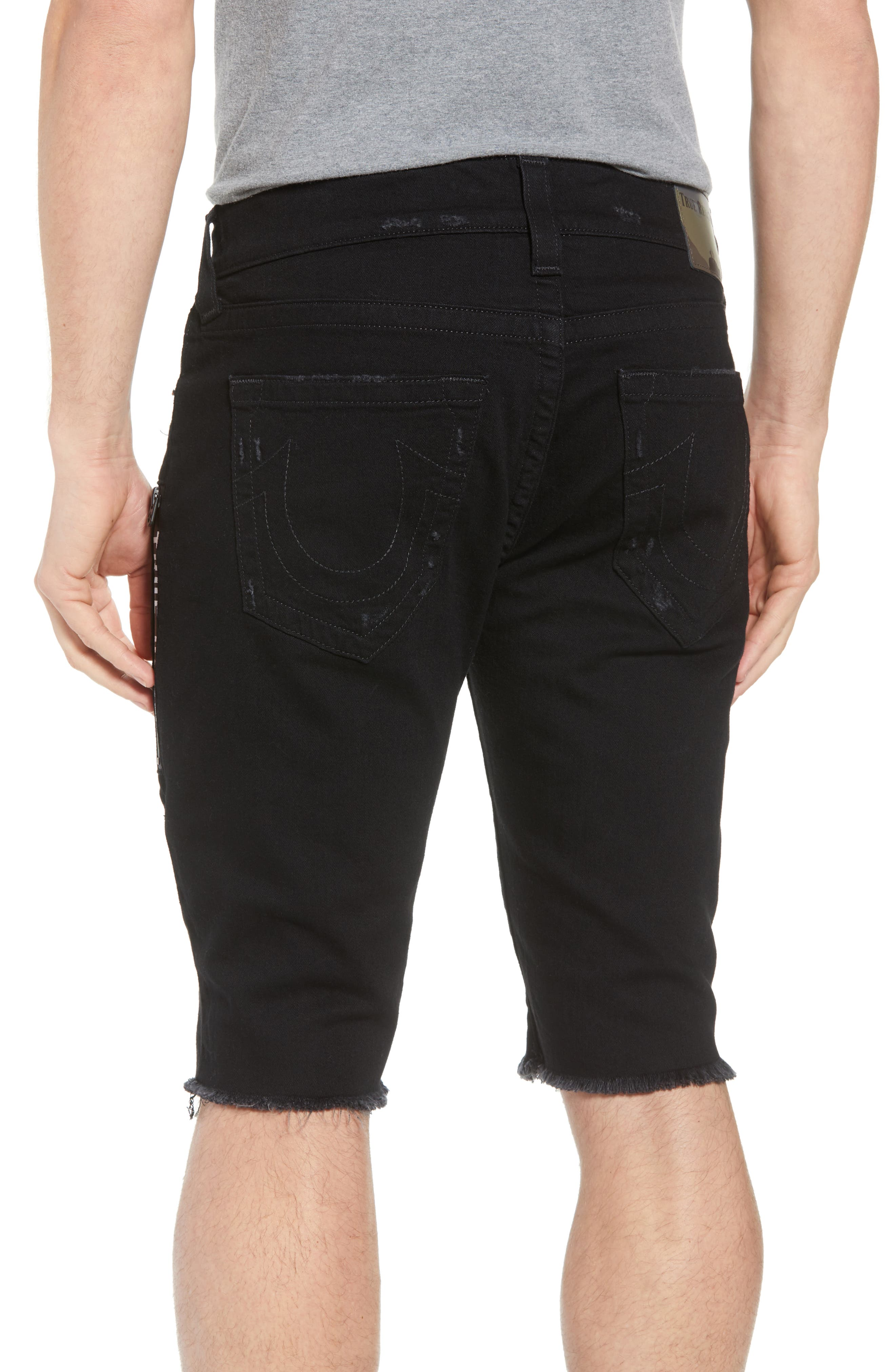 Ricky Relaxed Fit Shorts,                             Alternate thumbnail 2, color,                             Chalkboard