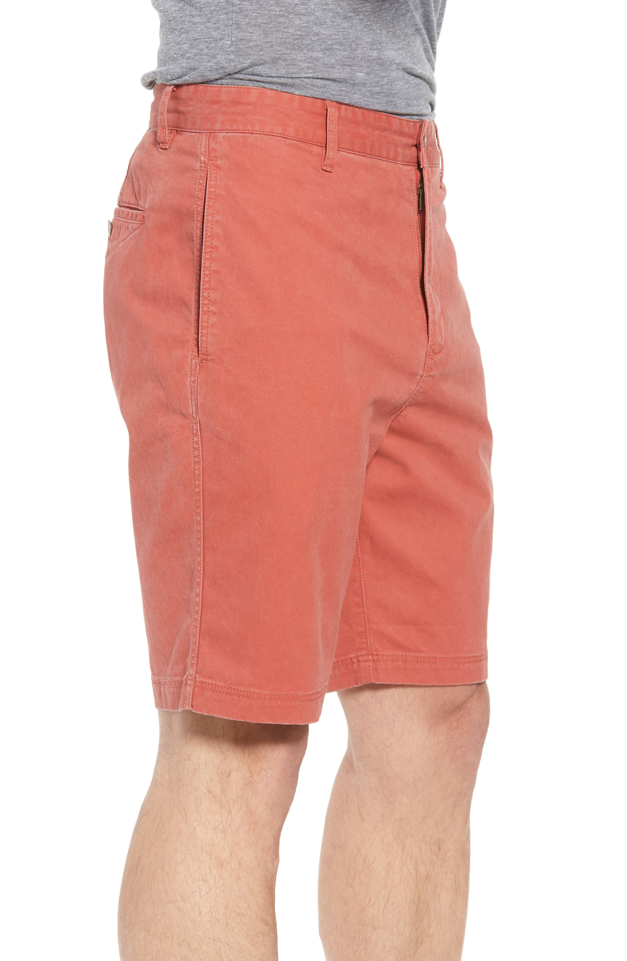 Glenburn Shorts,                             Alternate thumbnail 4, color,                             Red Ochre