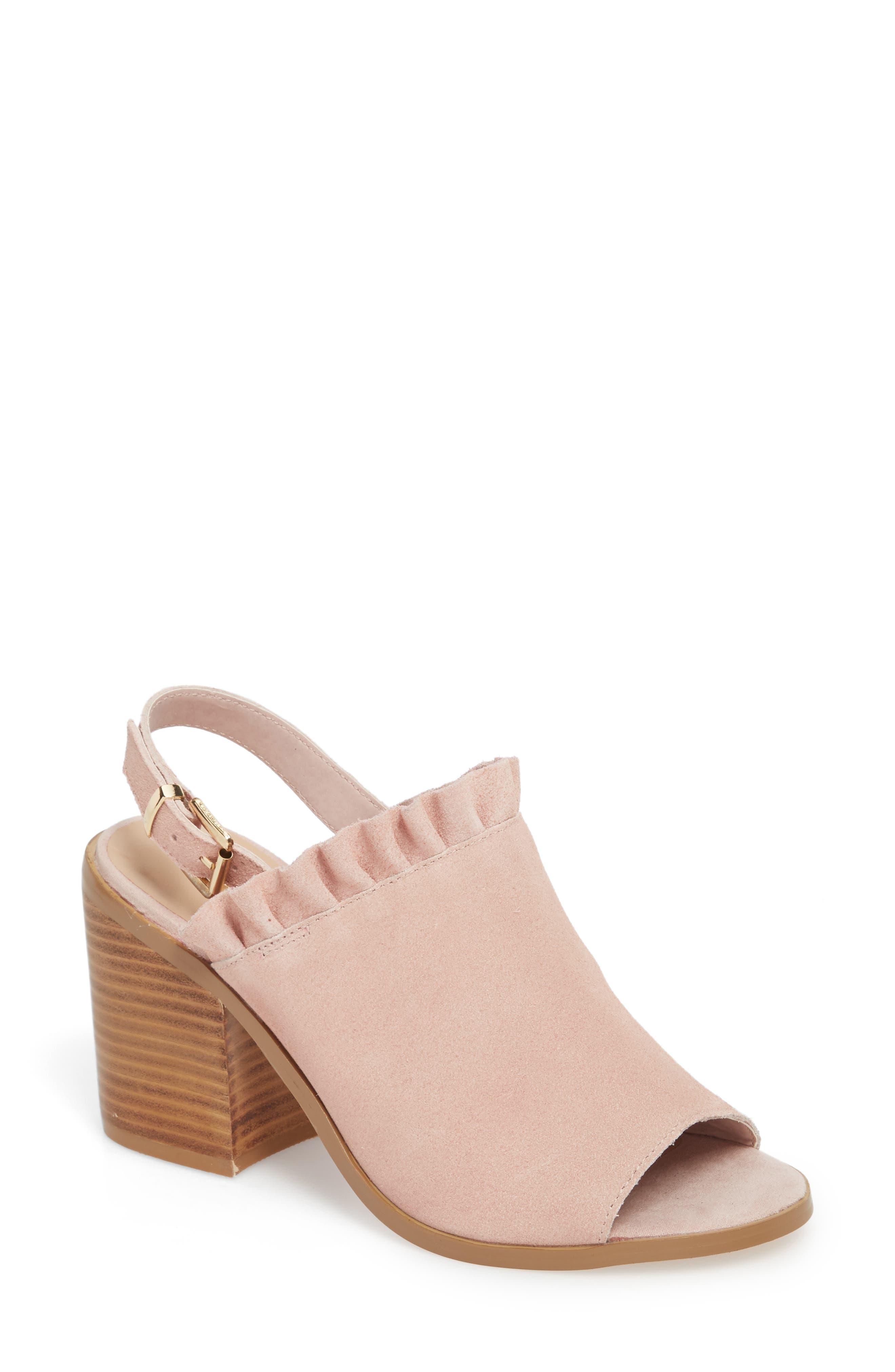 Sbicca Carla Block Heel Sandal (Women)