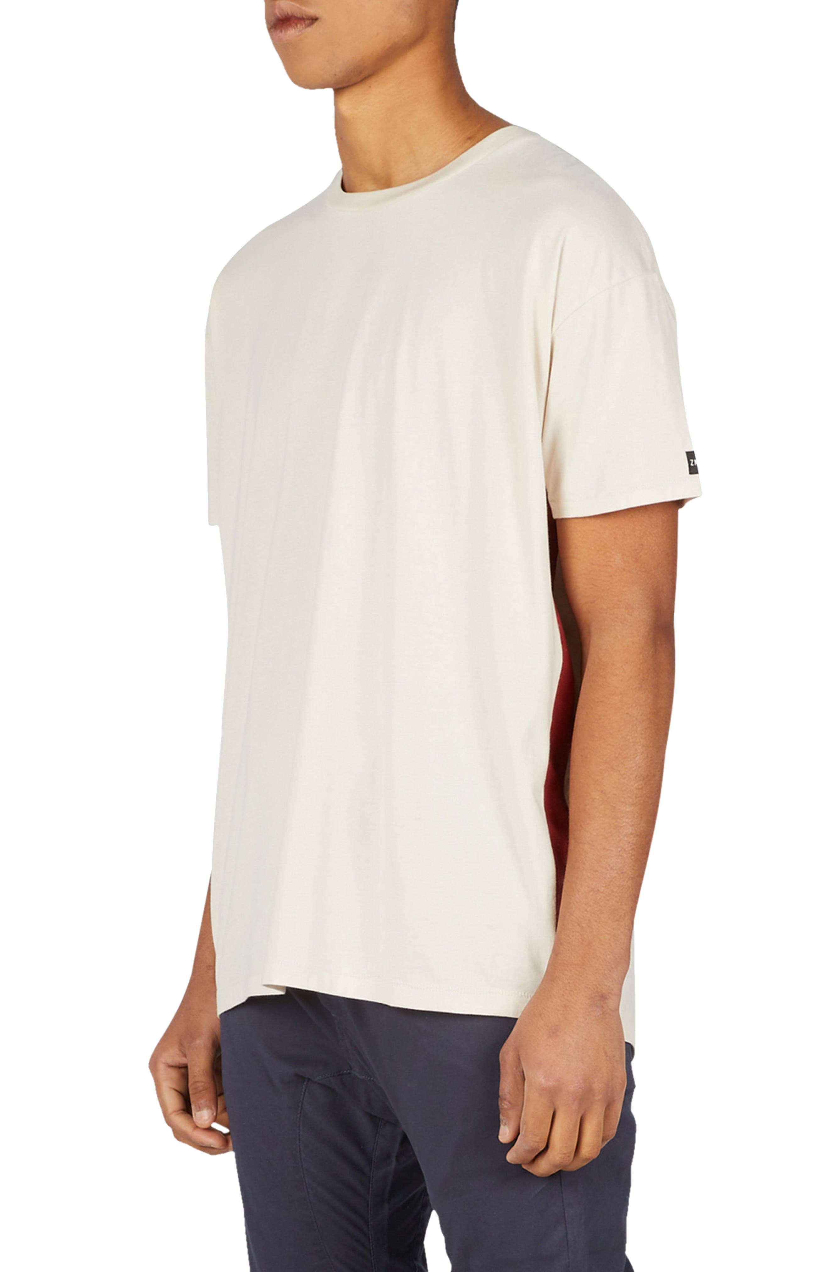Sideline Rugger T-Shirt,                         Main,                         color, Natural