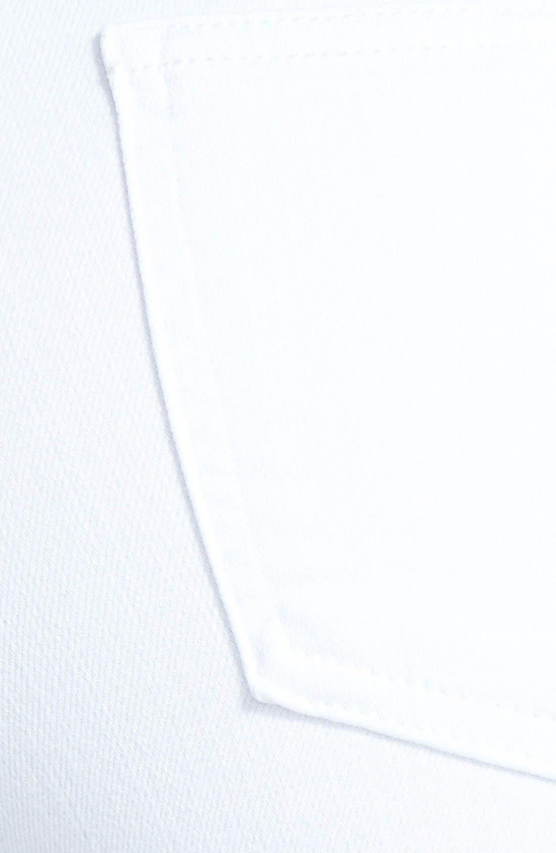 'The Skinny' Jeans,                             Alternate thumbnail 3, color,                             Bright White
