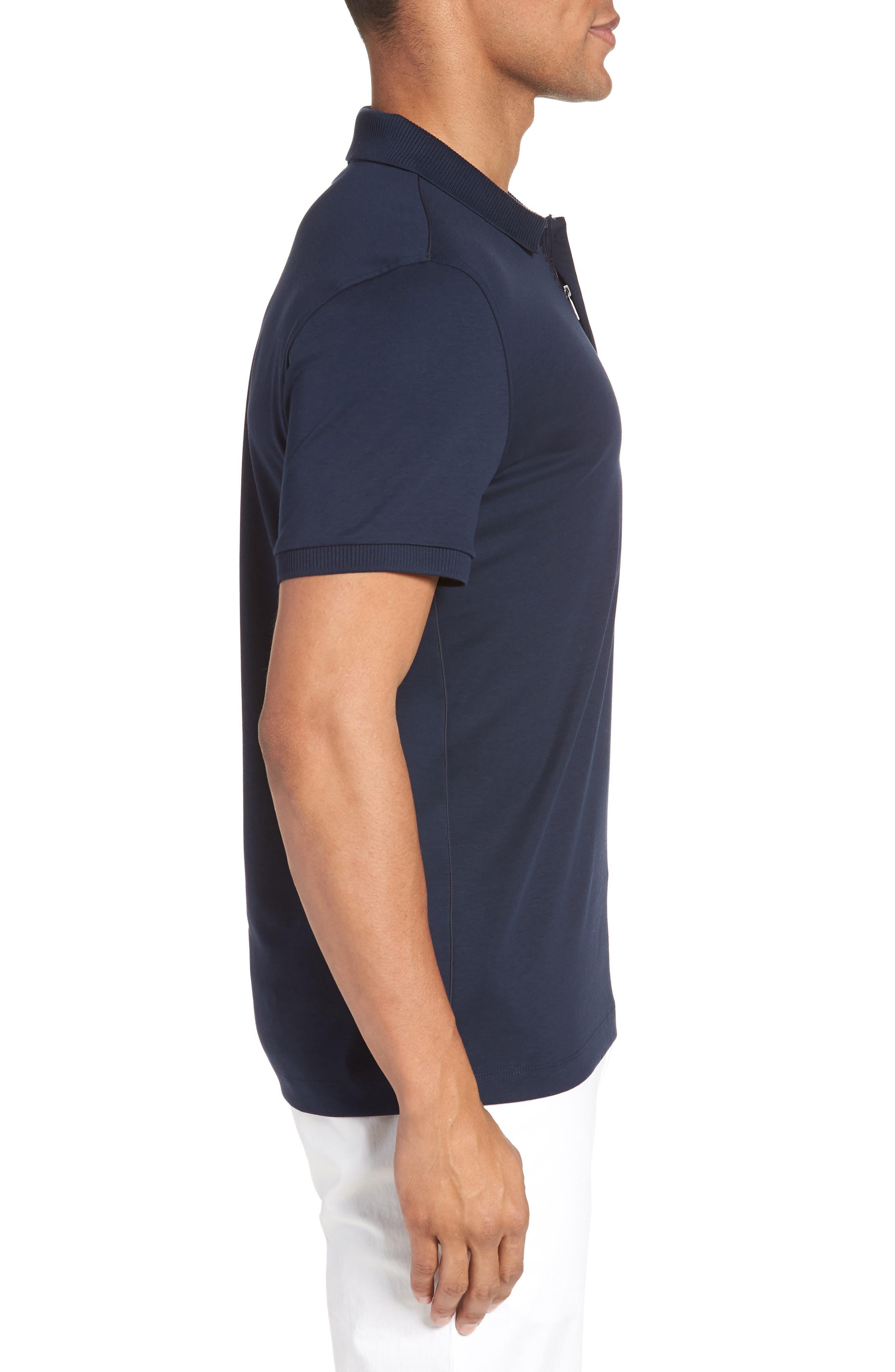 Pohl Polo Shirt,                             Alternate thumbnail 3, color,                             Blue