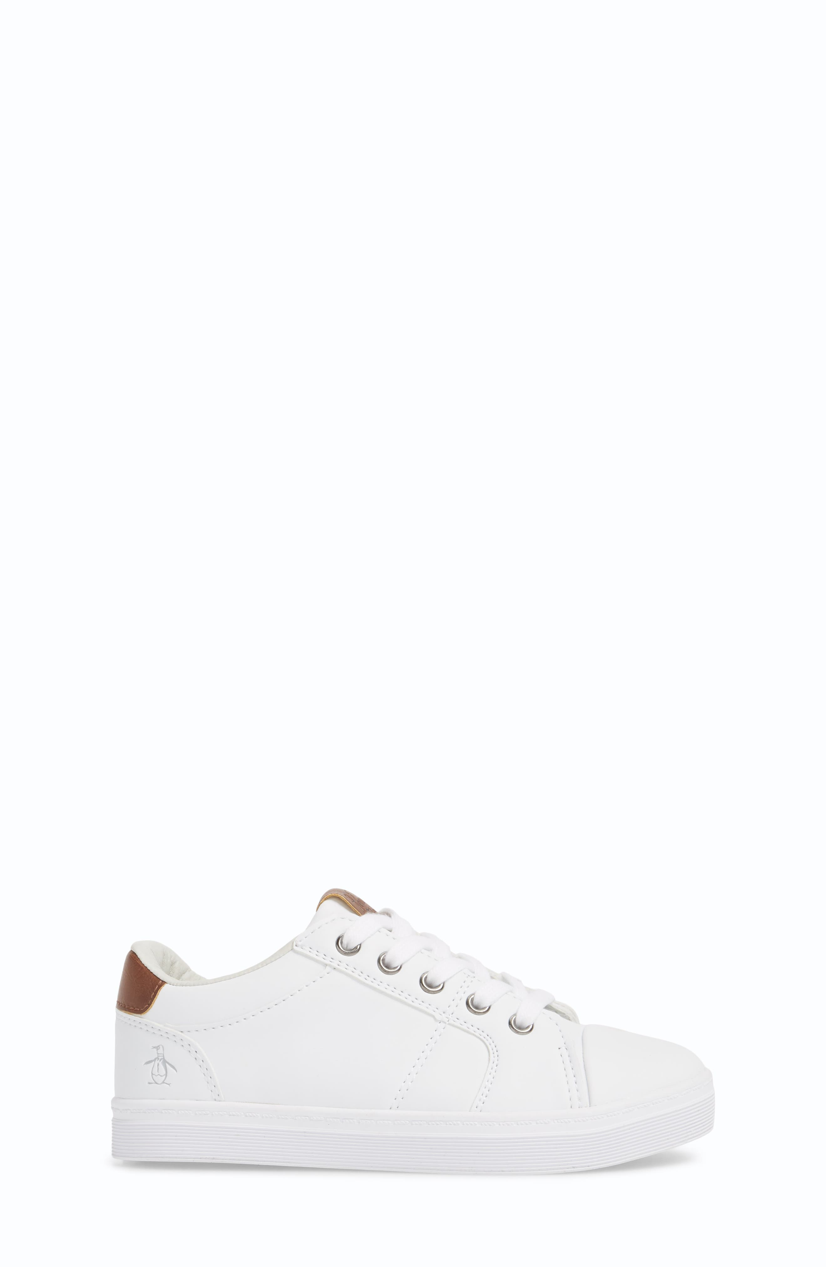 Cobin Sneaker,                             Alternate thumbnail 3, color,                             White/ Cognac